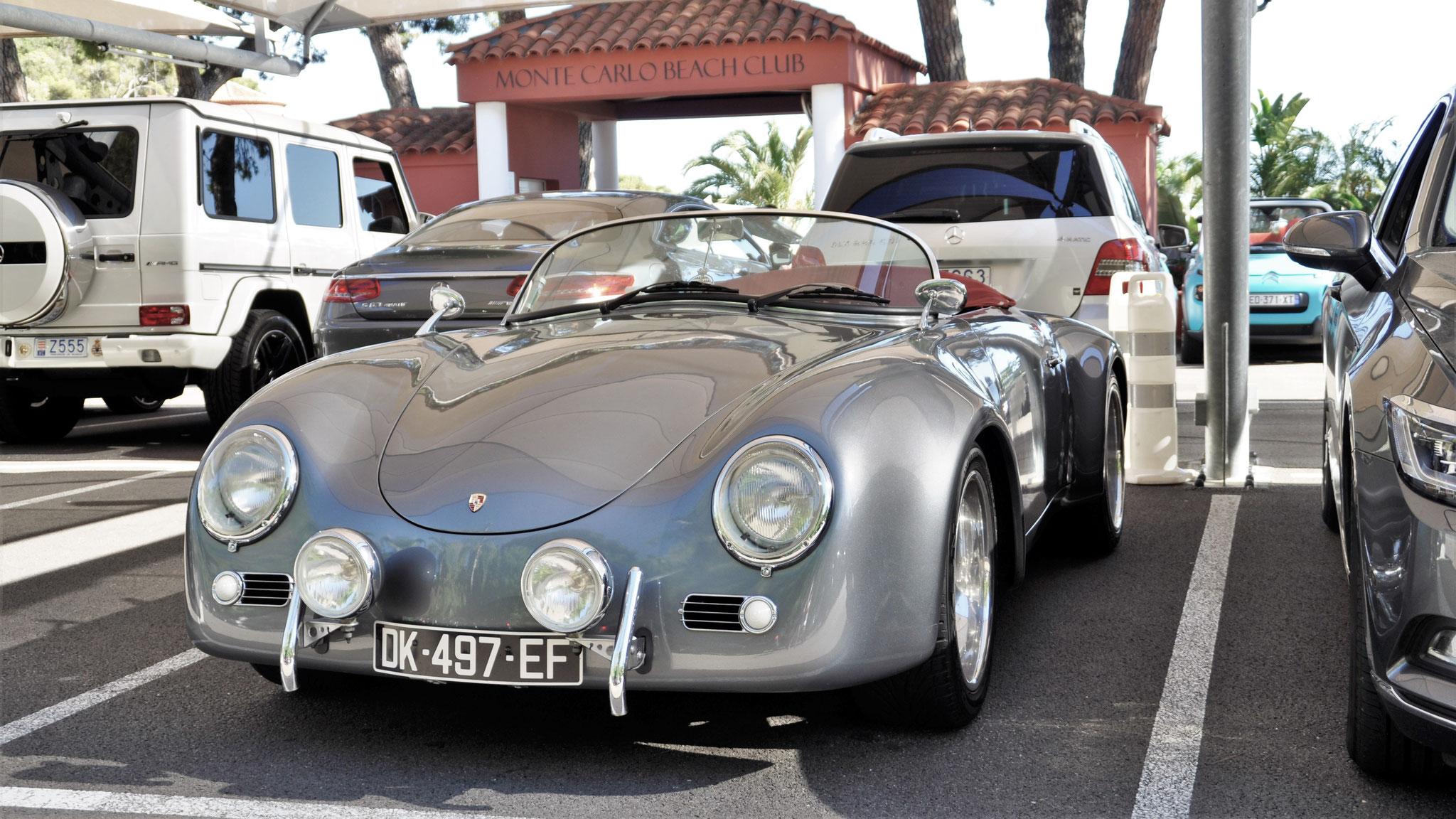 Porsche 356 1600 Super Speedster - DK-497-EF (ITA?)