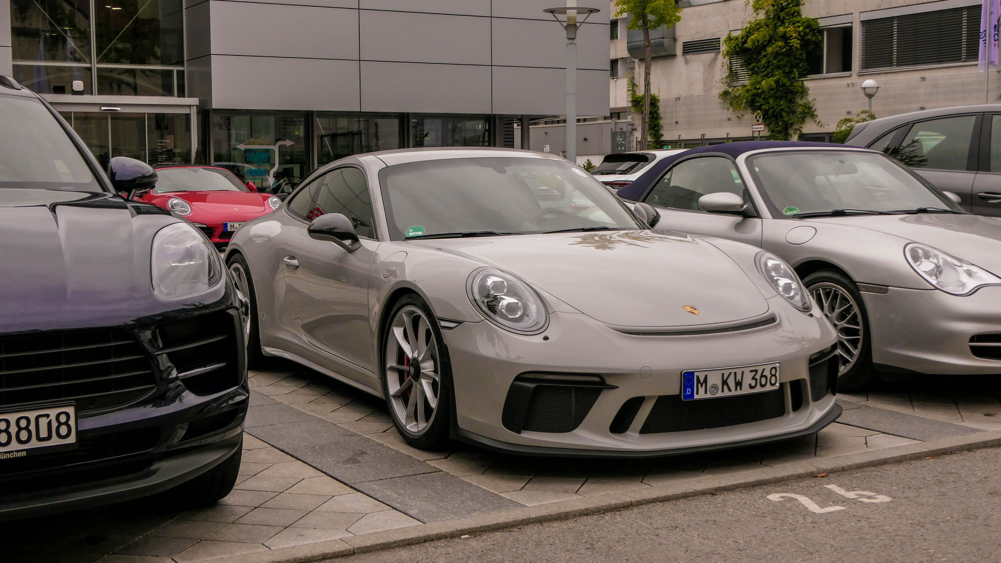 Porsche 991 GT3 Touring Package - M-KW-368