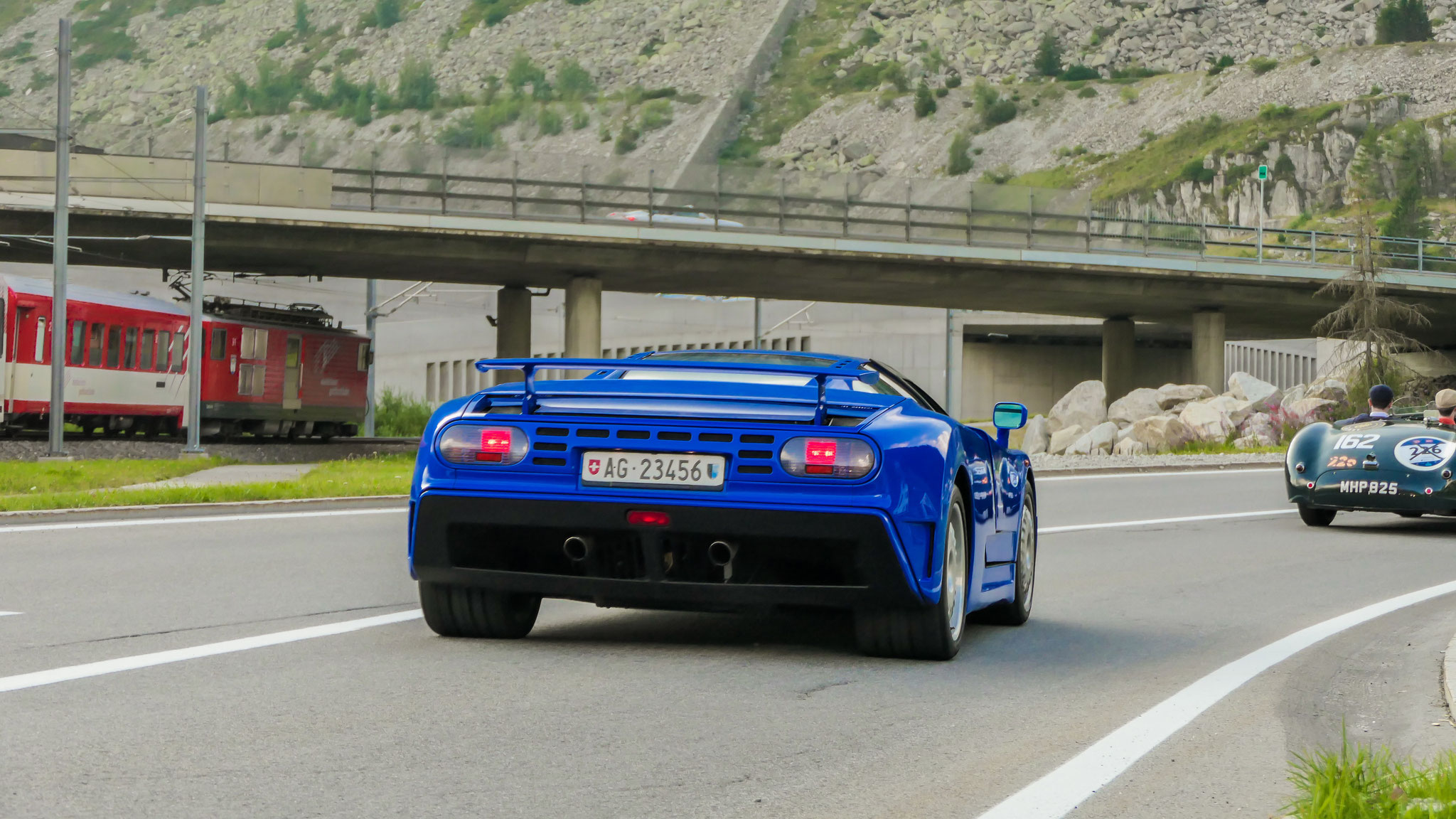Bugatti EB110 SS - AG-23456 (CH)