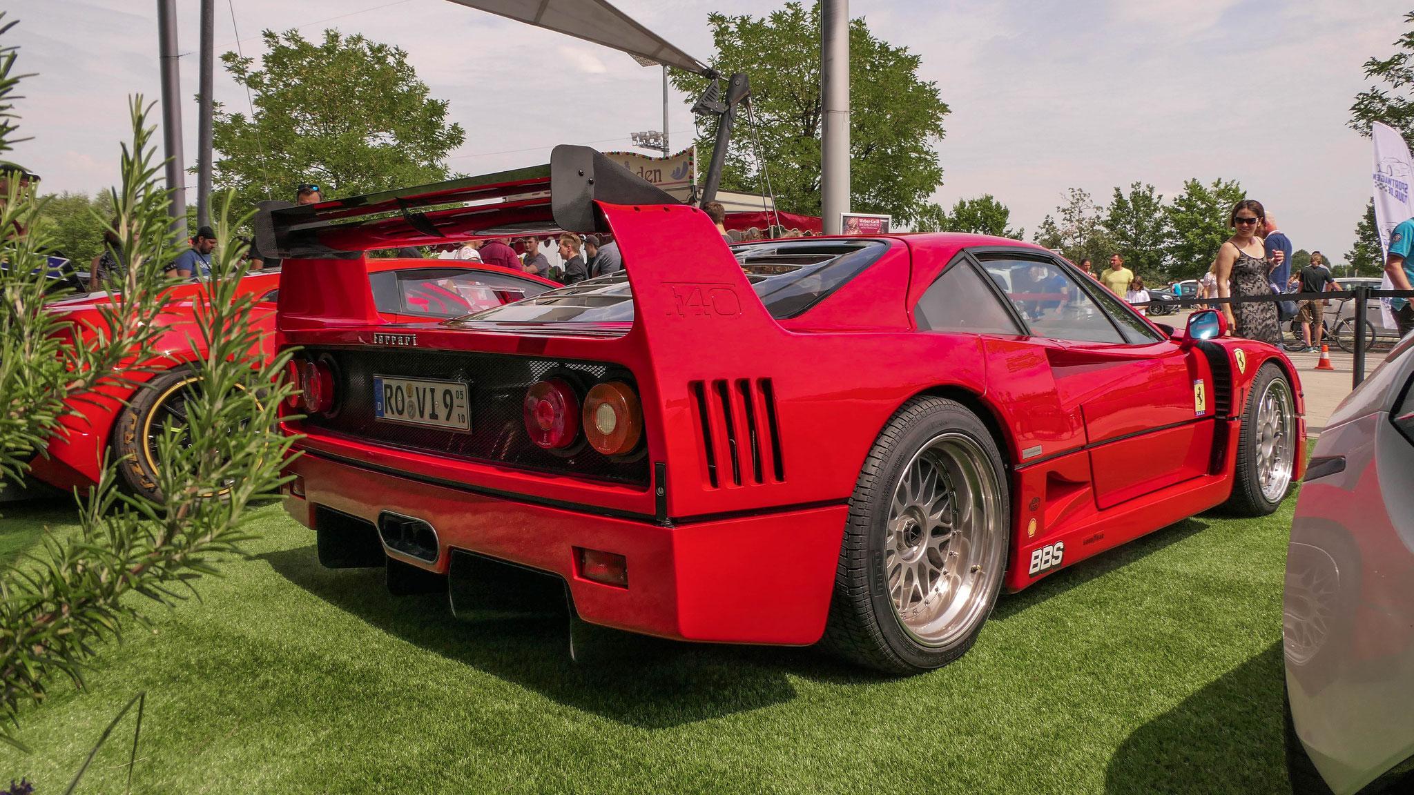 Ferrari F40 - RO-VI-9
