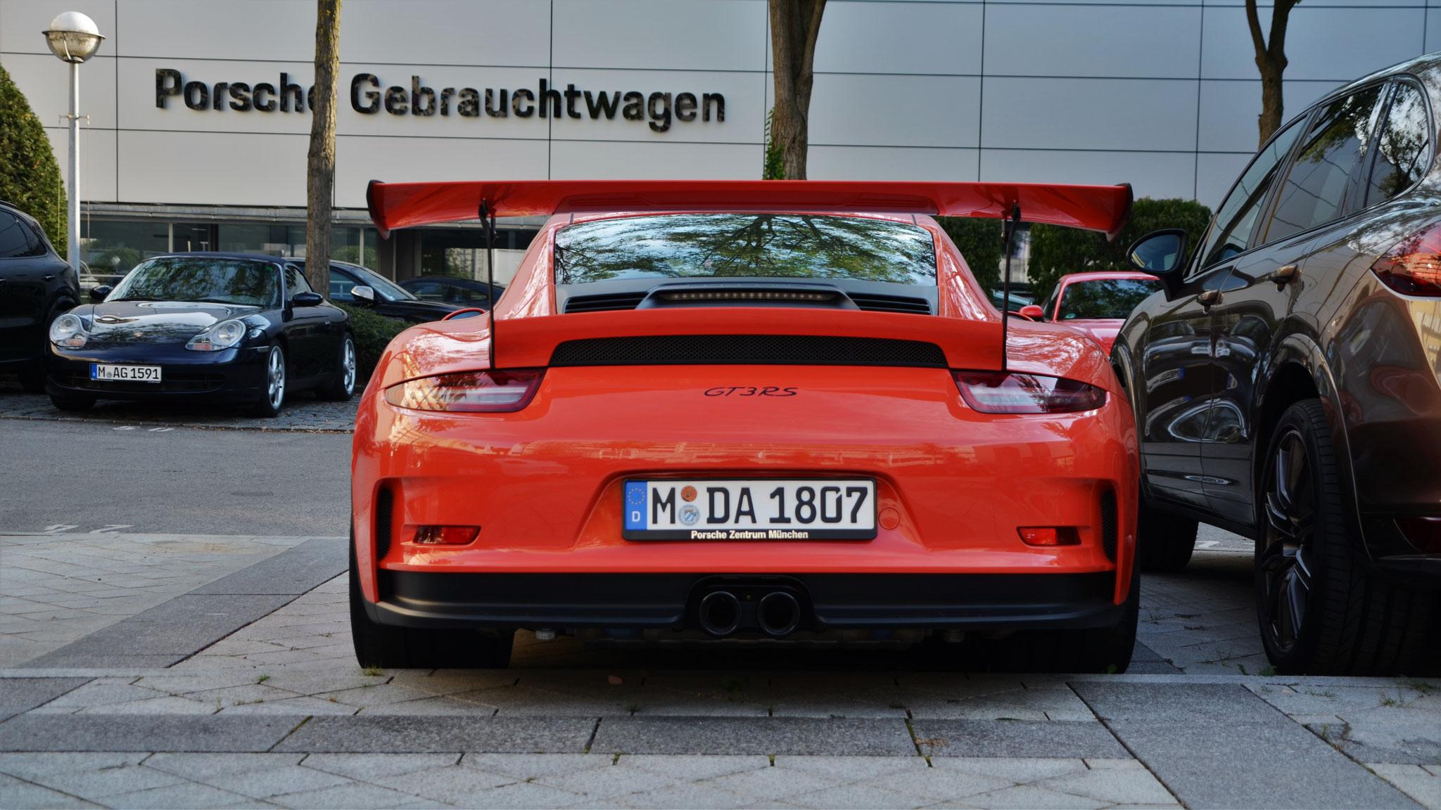 Porsche 911 GT3 RS - M-DA-1807