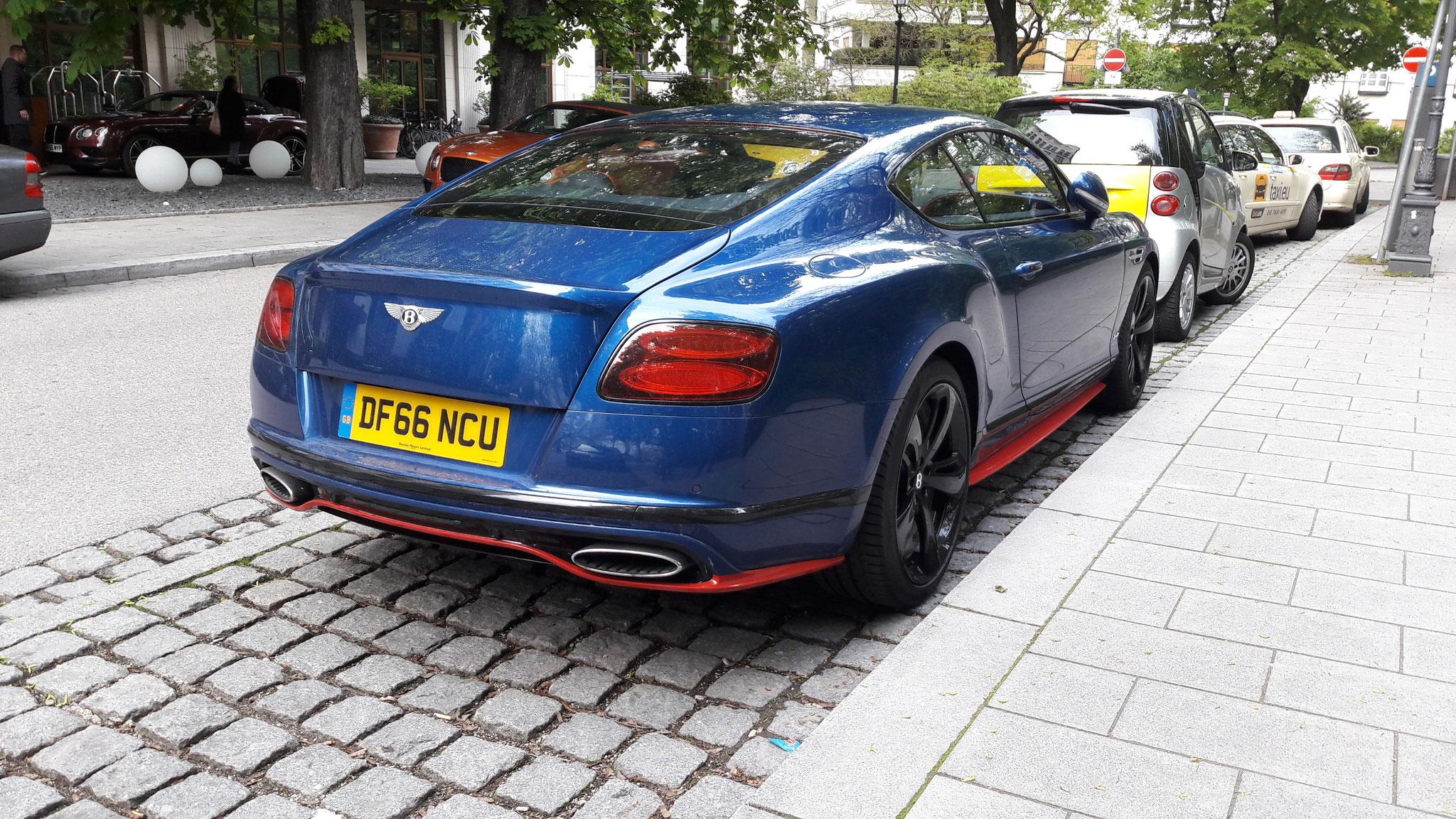 Bentley Continental GT Speed - DF66-NCU