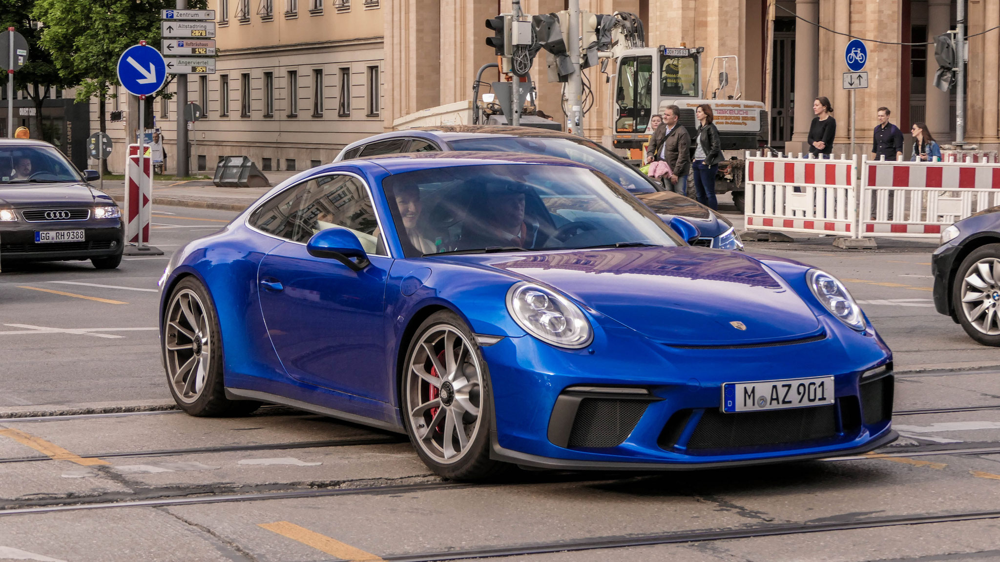 Porsche 991 GT3 Touring Package - M-AZ-901