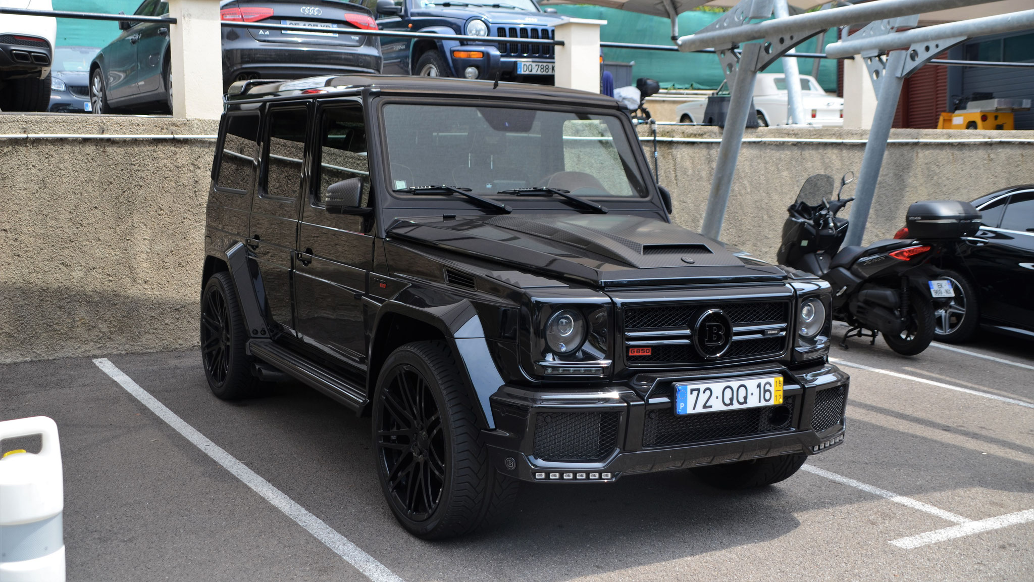Brabus Carspotting Car graphy in Munich