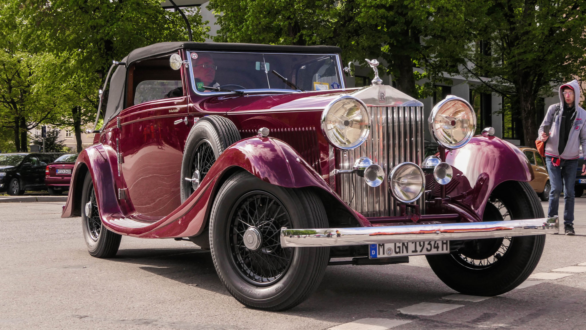 Rolls Royce Phantom II - M-GN-1934H