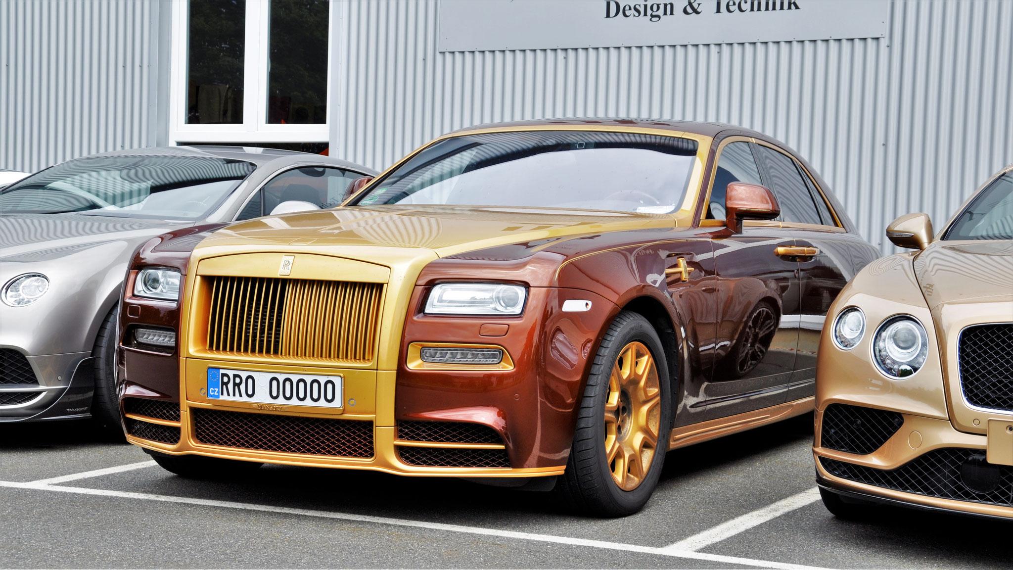 Rolls Royce Ghost - RRO-00000 (CZ)