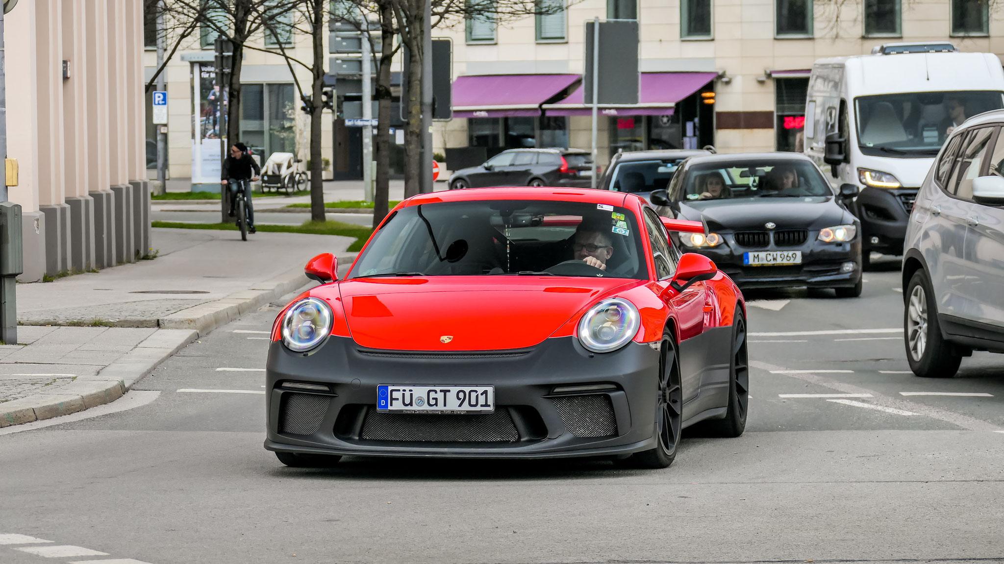 Porsche 991 GT3 - FÜ-GT-901