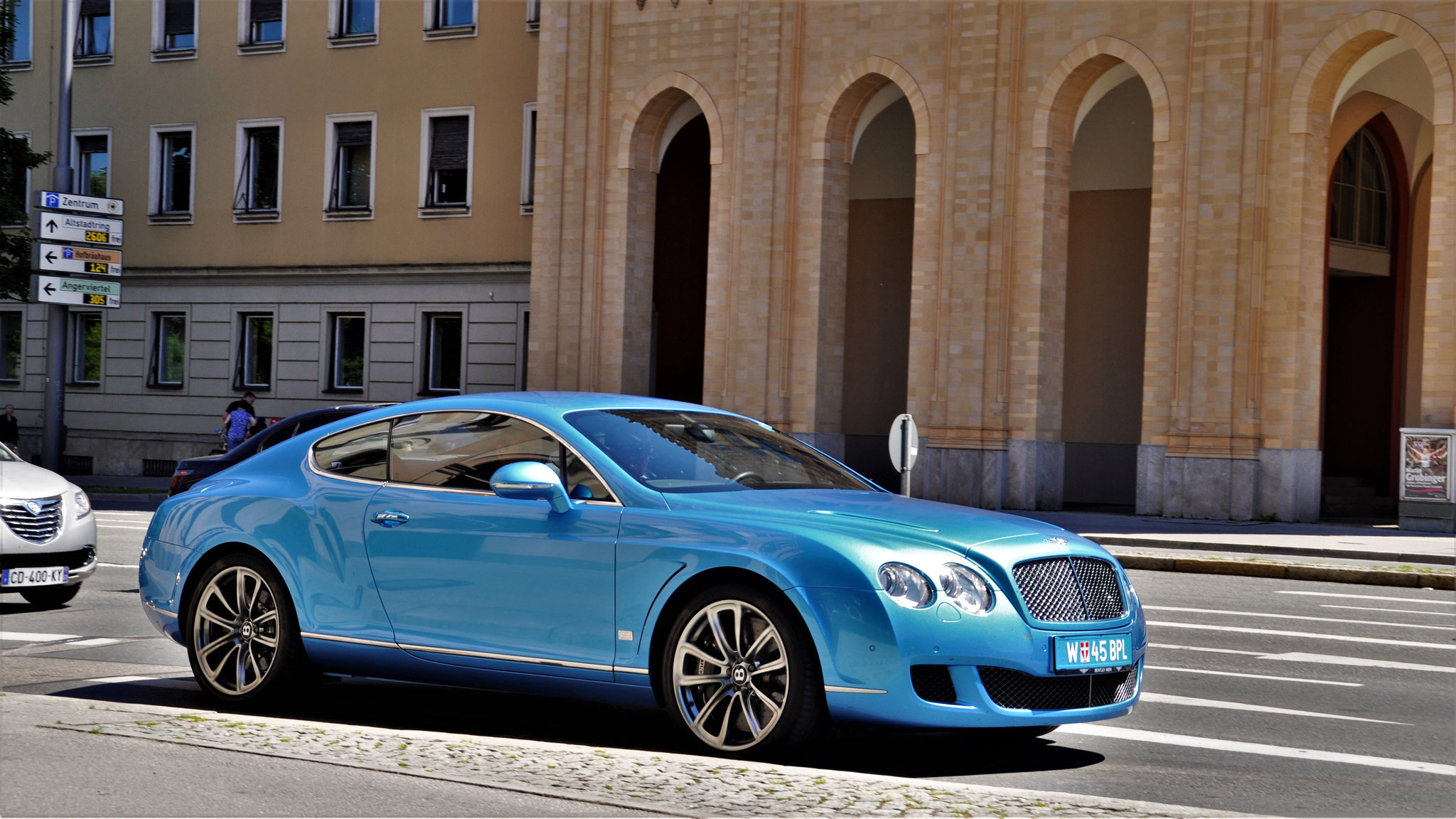 Bentley Continental GT - W-45-BPL (AUT)