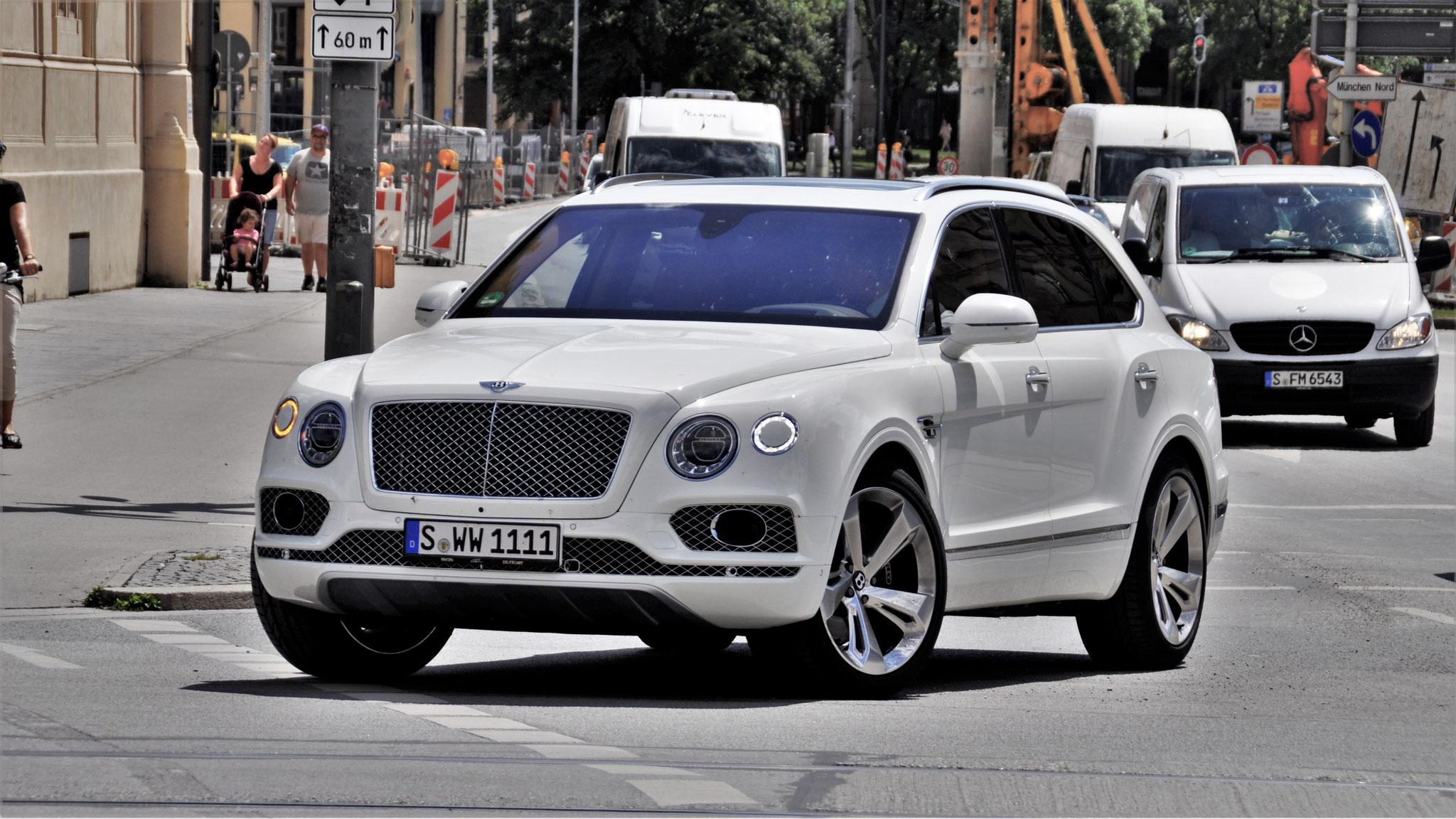Bentley Bentayga - S-WW-1111