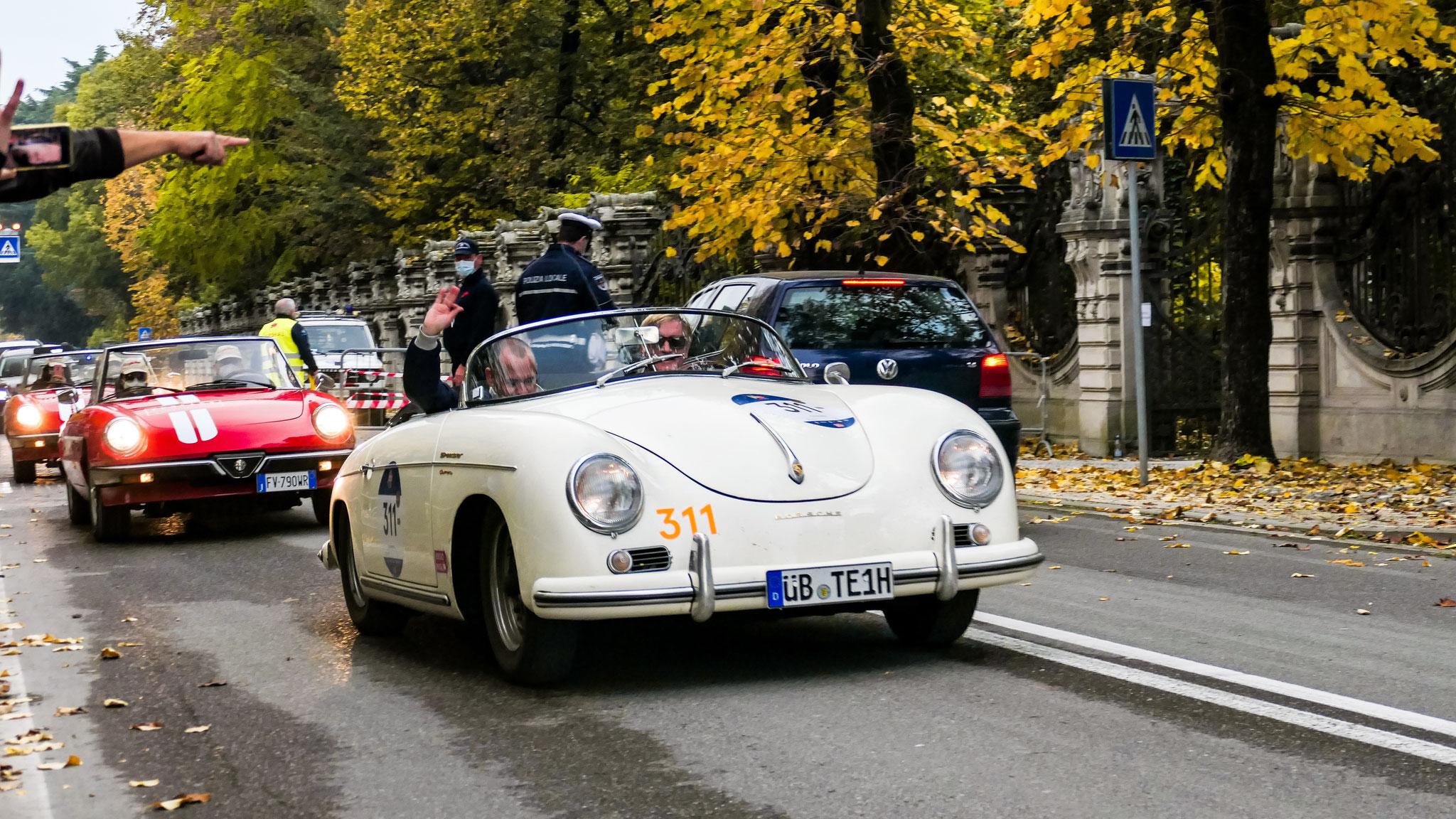 Porsche 356 Speedster Carrera 1500 GS - ÜB-TE-1H
