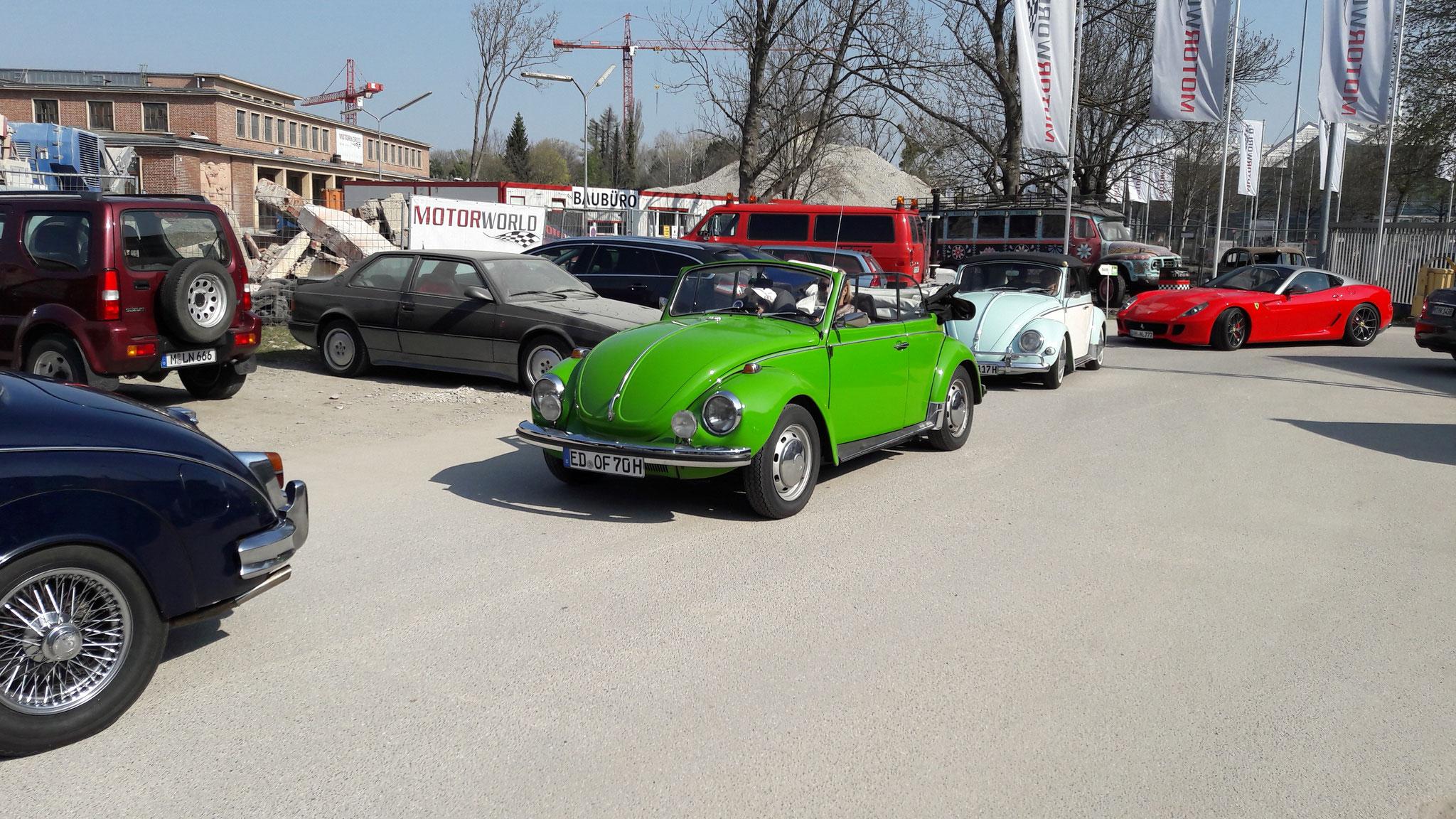 VW Käfer Cabrio - ED-OF-70H
