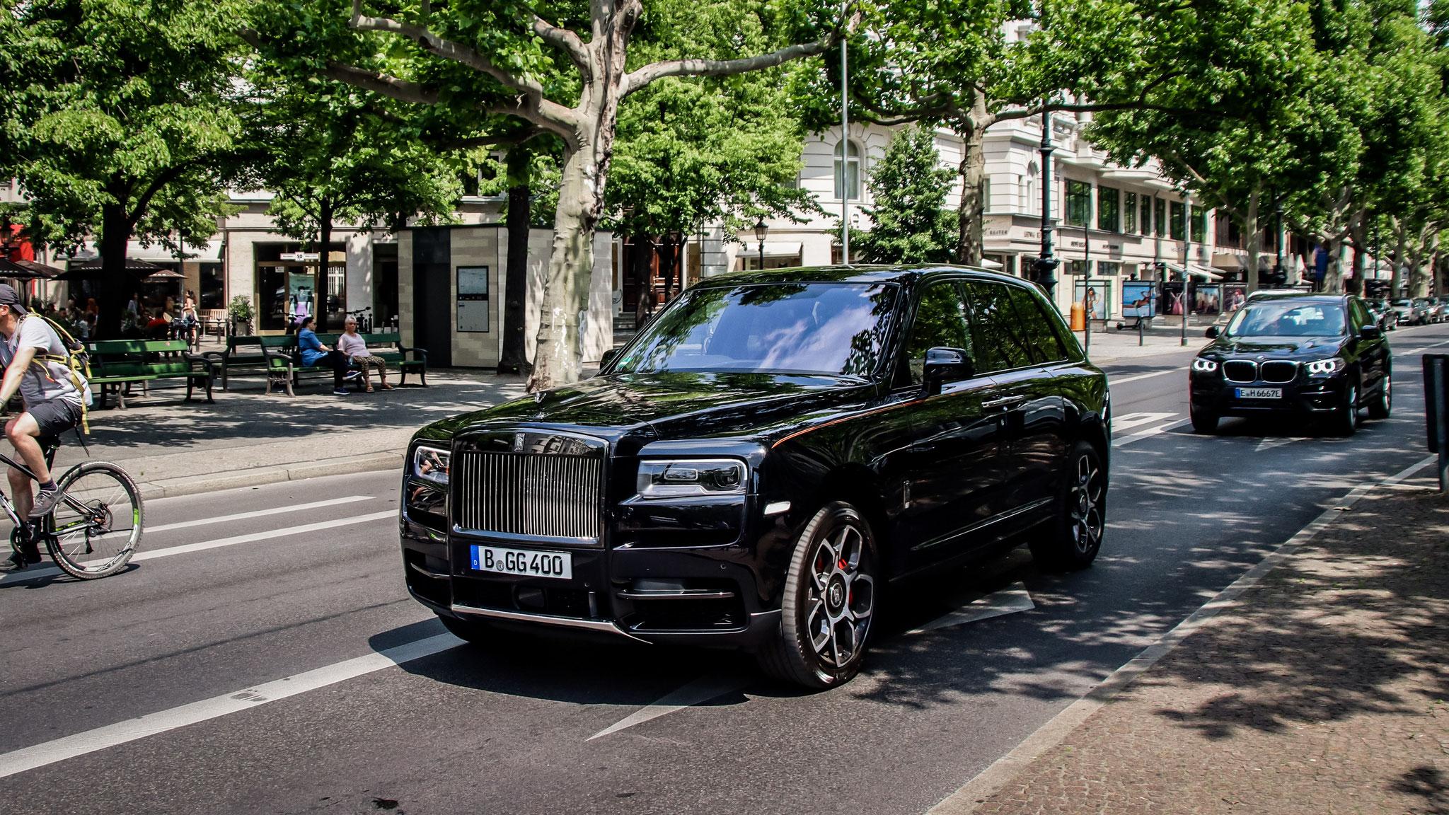 Rolls Royce Cullinan - B-GG-400