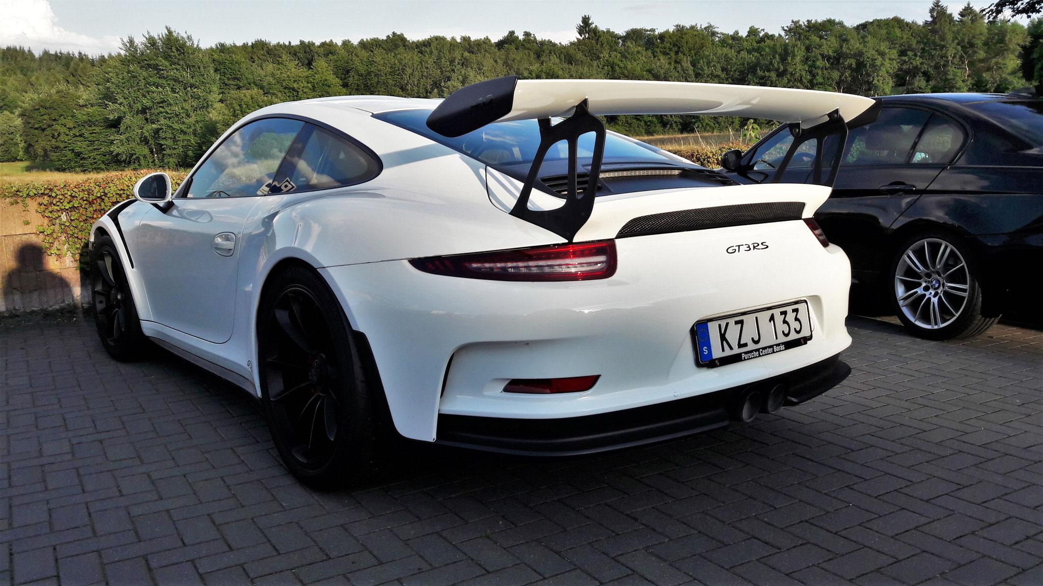 Porsche 911 GT3 RS - KZJ-133 (SWE)