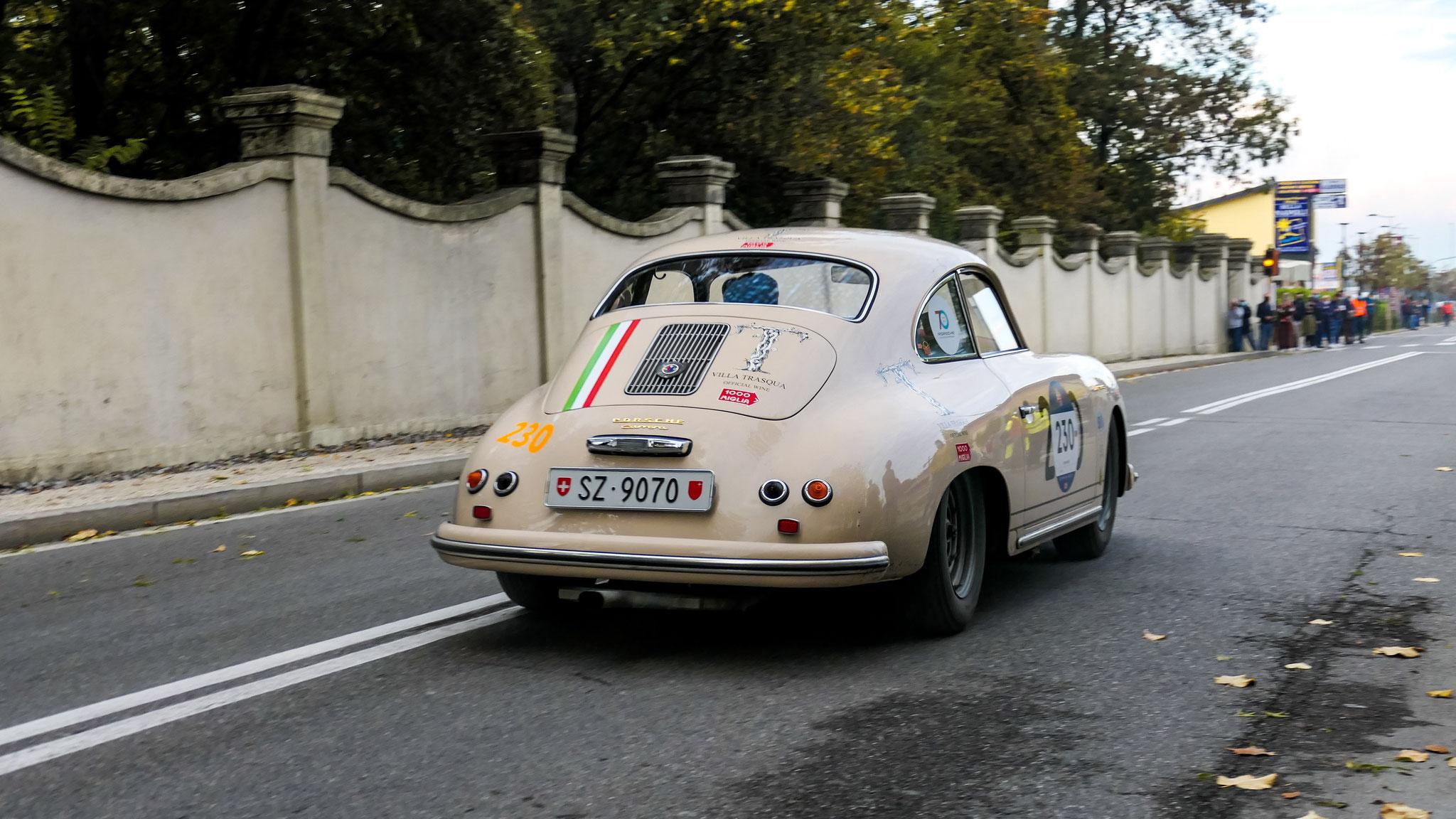 Porsche 356 Carrera 1500 GS - SZ-9070 (CH)