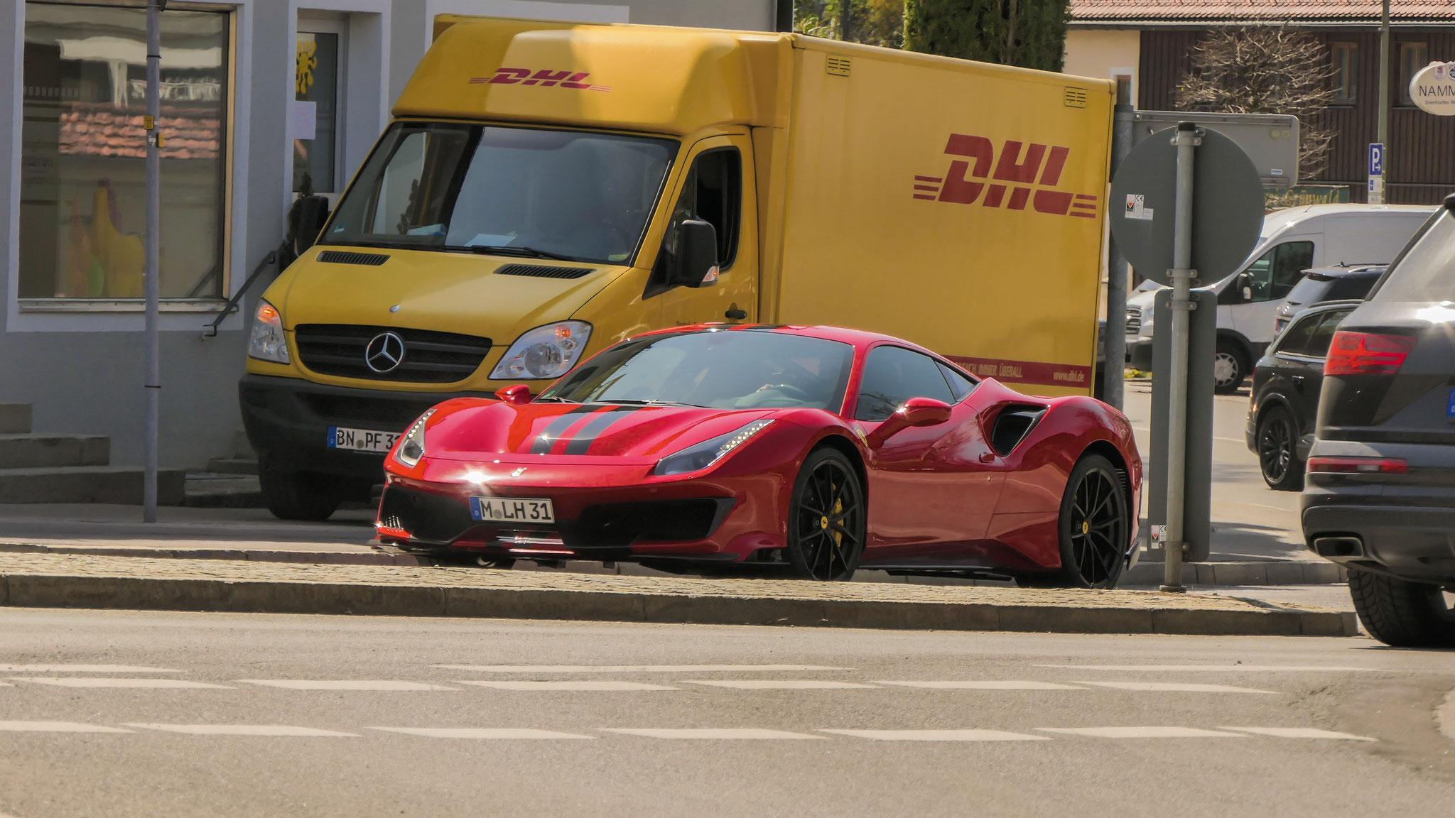 Ferrari 488 Pista - M-LH-31