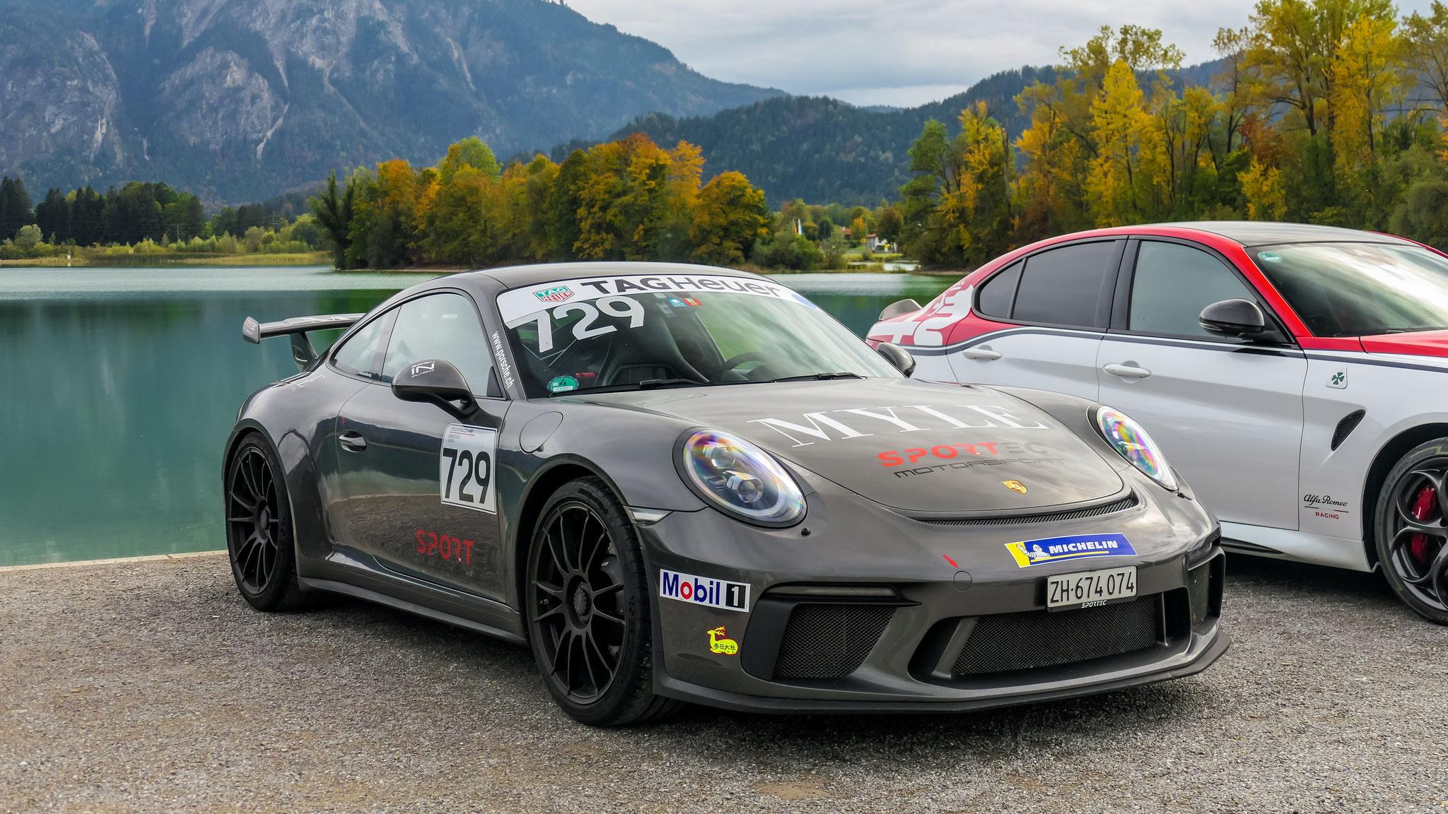 Porsche 991 GT3 - ZH-674074 (CH)