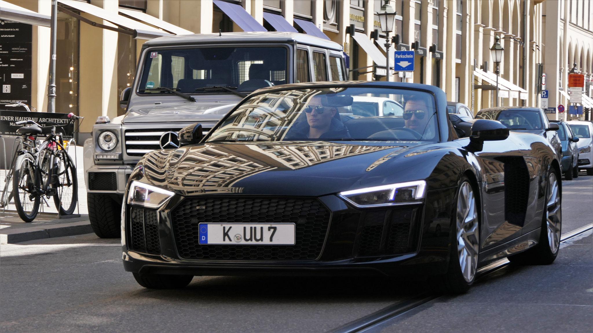 Audi R8 V10 Spyder - K-UU-7