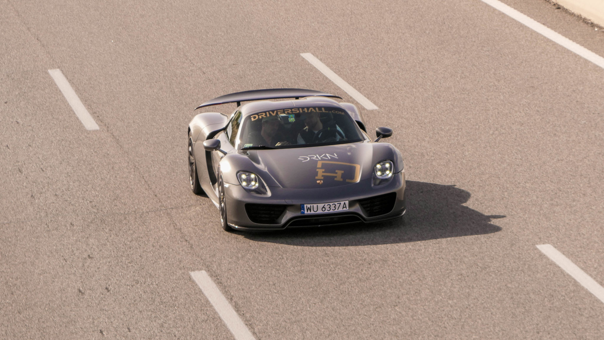 Porsche 918 Spyder - WU-3667-A (POL)
