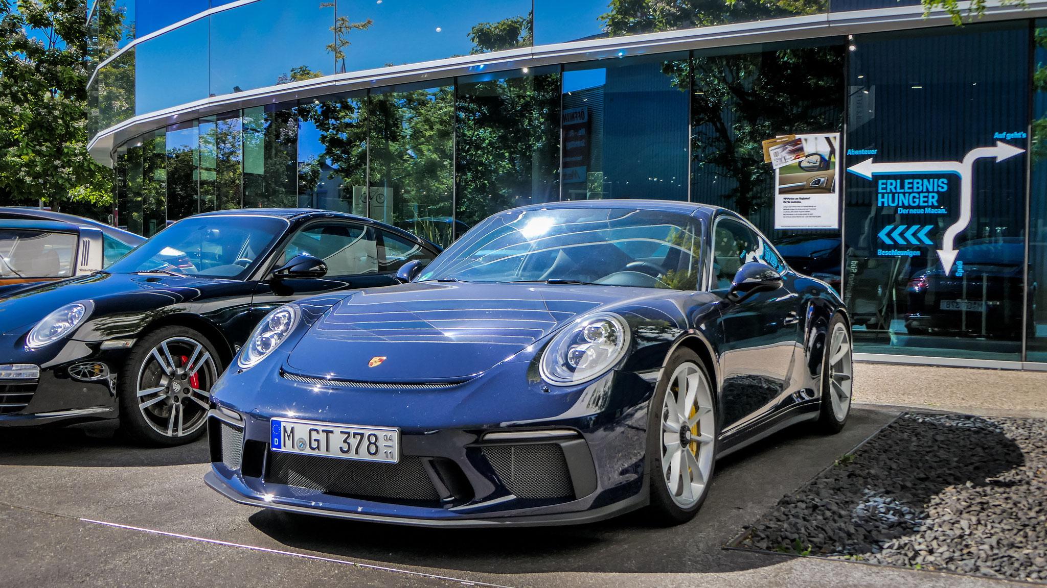 Porsche 991 GT3 Touring Package - M-GT-378