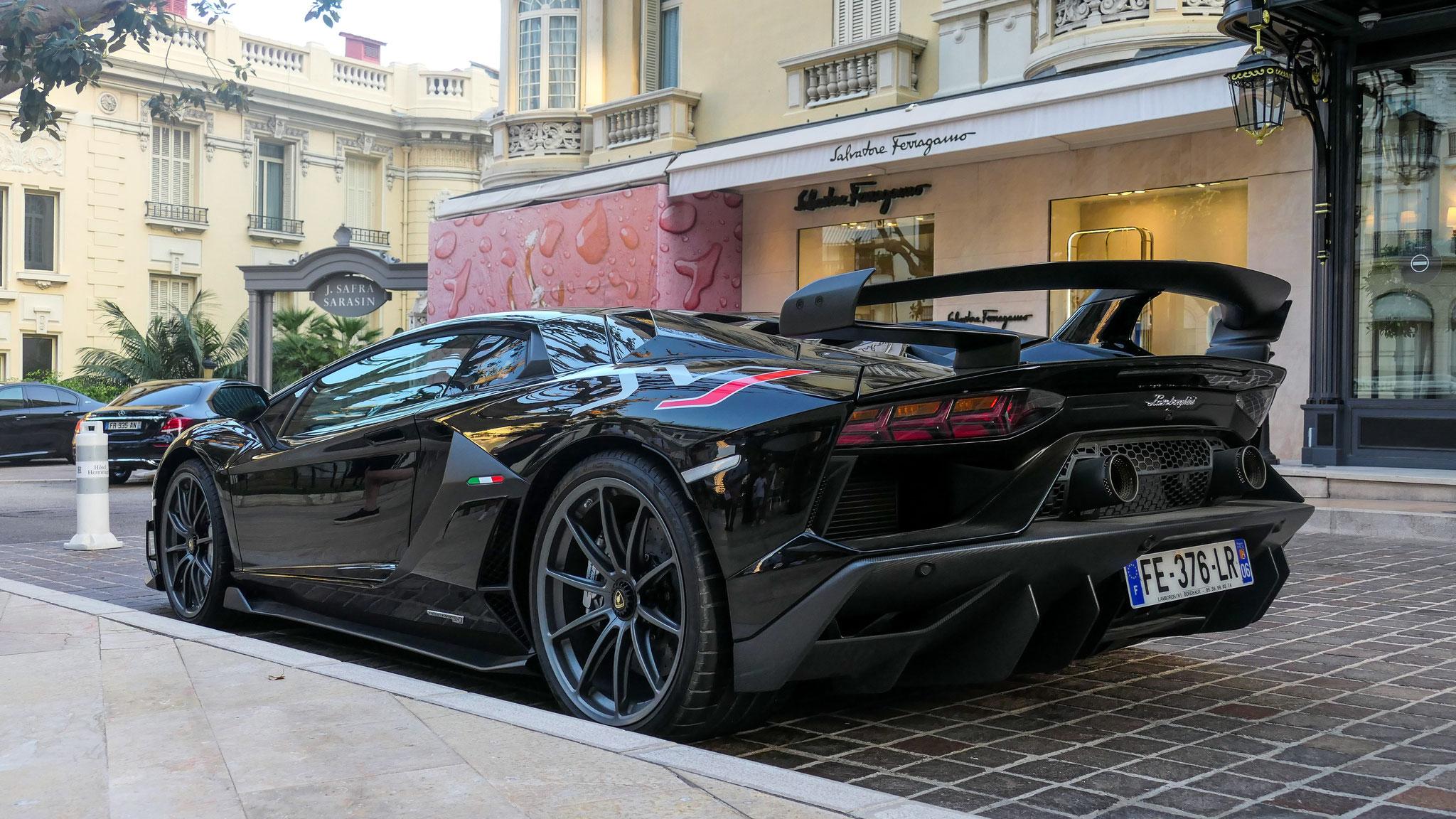 Lamborghini Aventador LP 770 SVJ - FE-376-LR-06 (FRA)