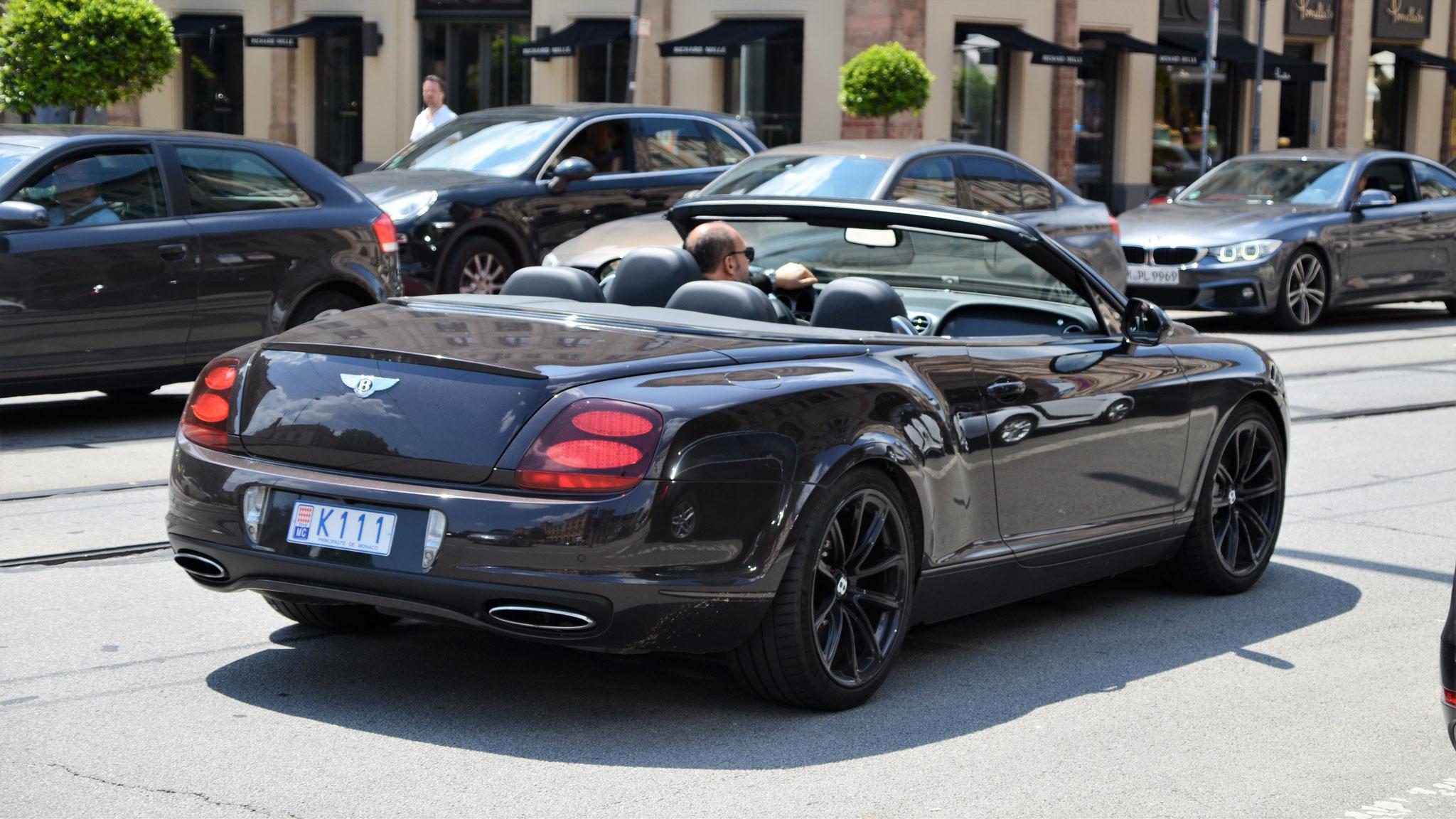 Bentley Continental GTC Supersports - K111 (MC)