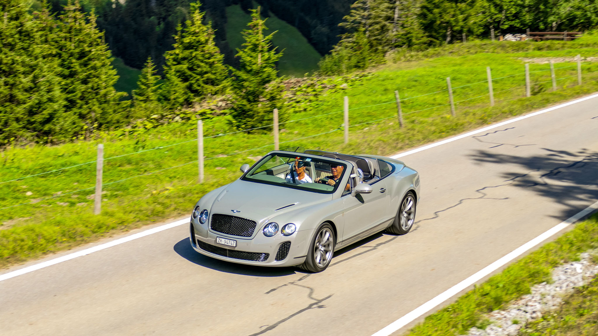 Bentley Continental GTC Supersports - ZH-94747 (CH)