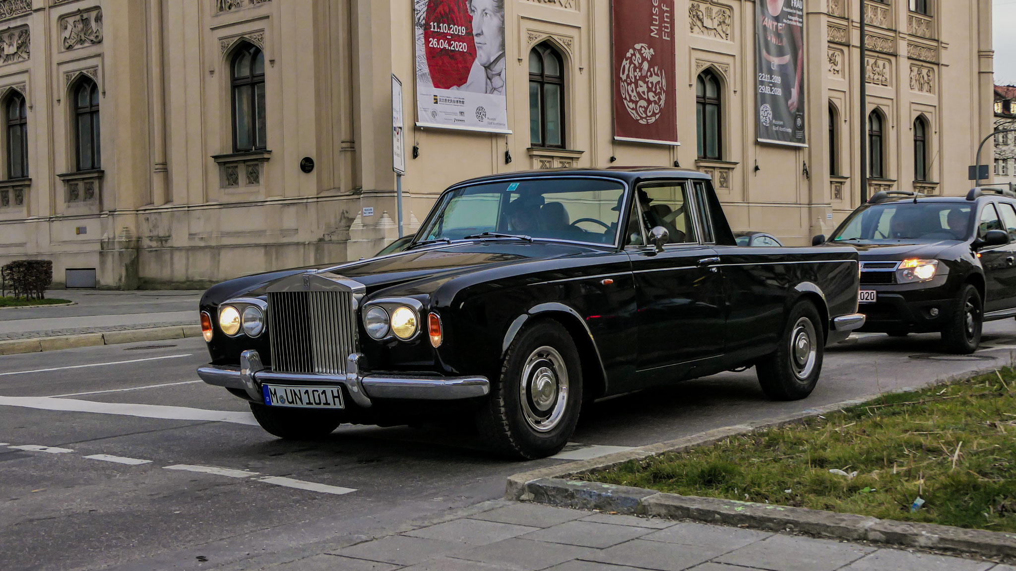 Rolls Royce Silver Shadow Pickup - M-UN-101H