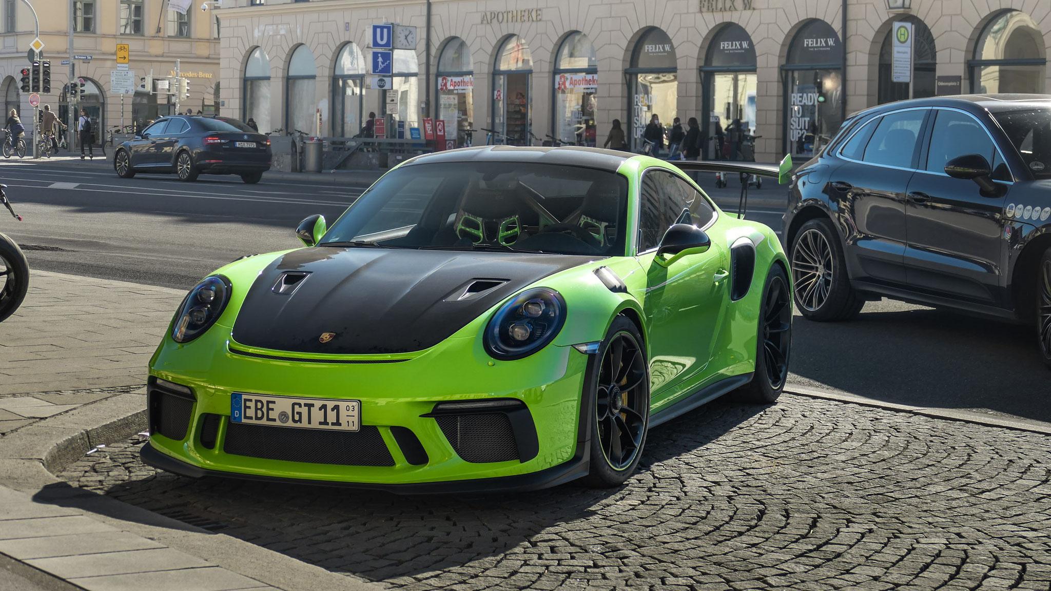 Porsche 911 991.2 GT3 RS - EBE-GT-11