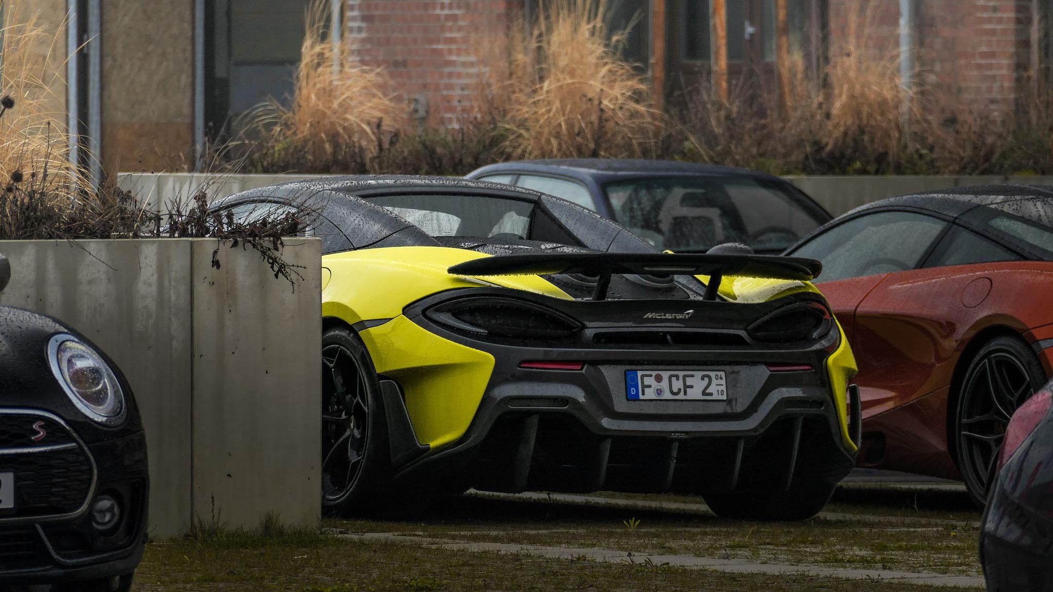McLaren 600LT Spider - F-CF-2