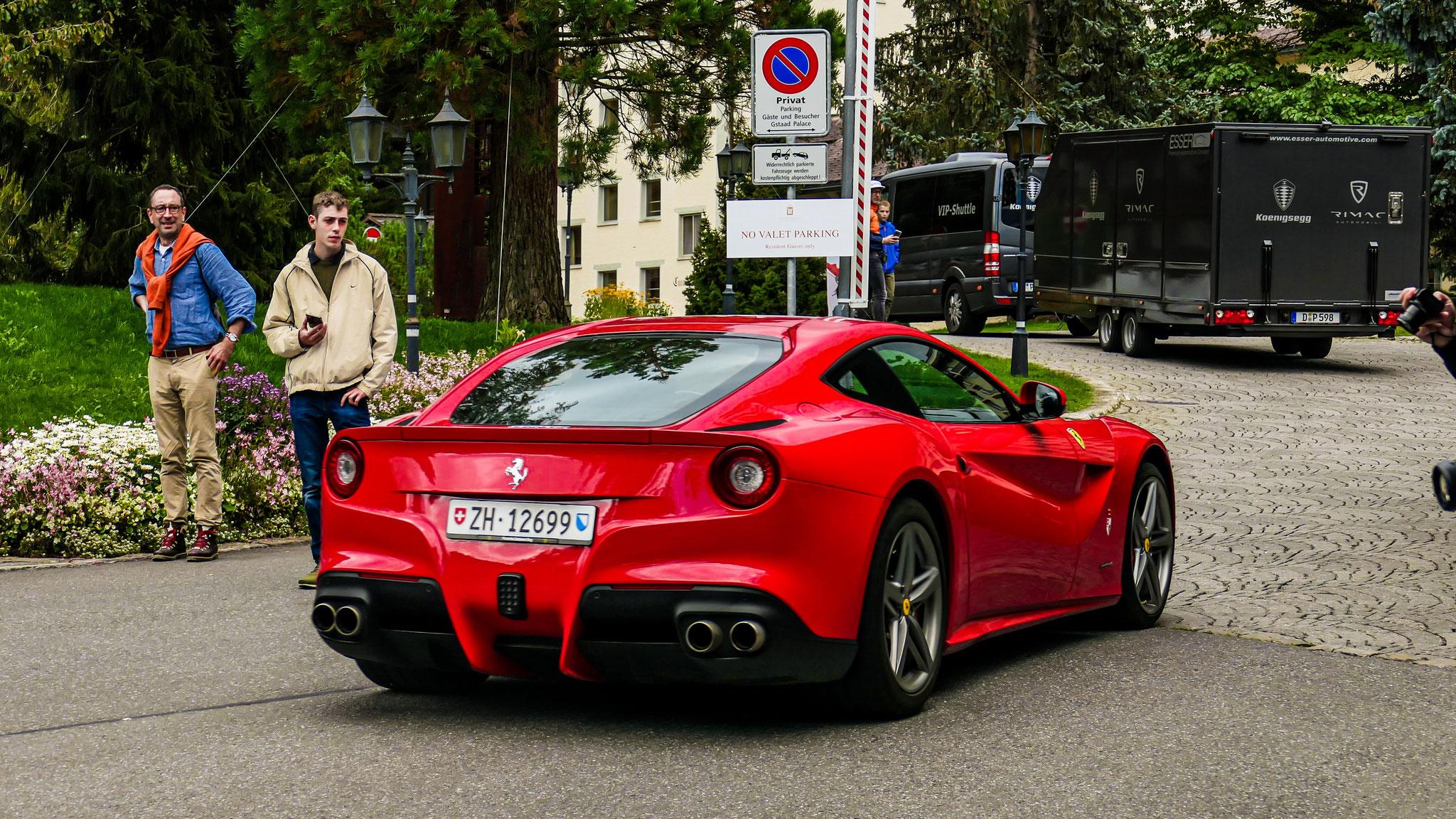 Ferrari F12 Berlinetta - ZH-12699 (CH)