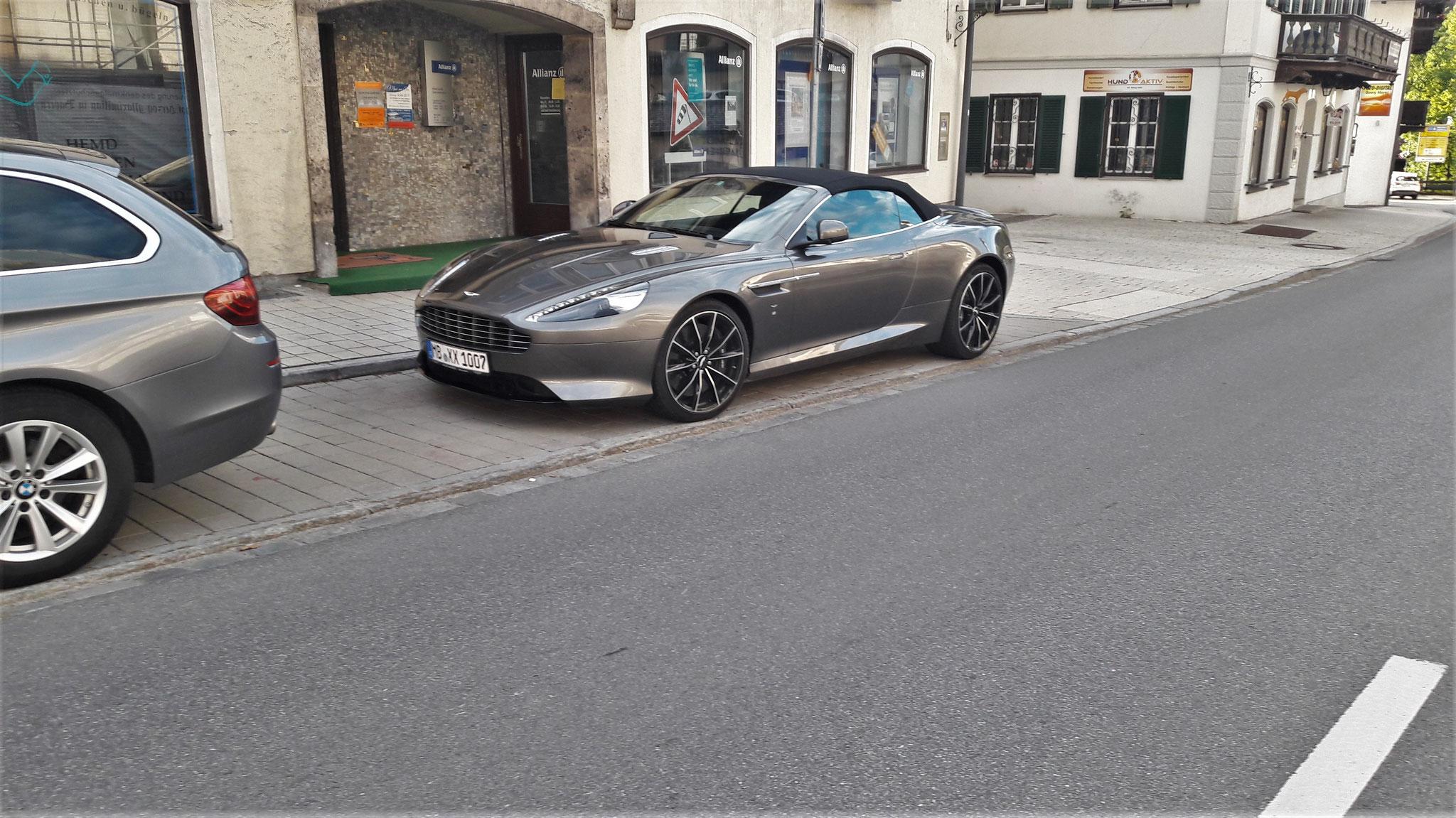 Aston Martin DB9 GT Volante - MB-XX-1007