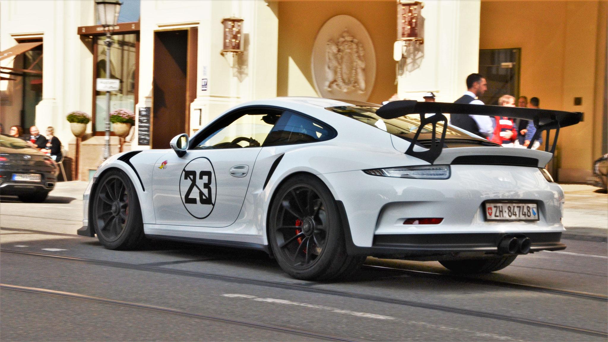 Porsche 911 GT3 RS - ZH-84748 (CH)