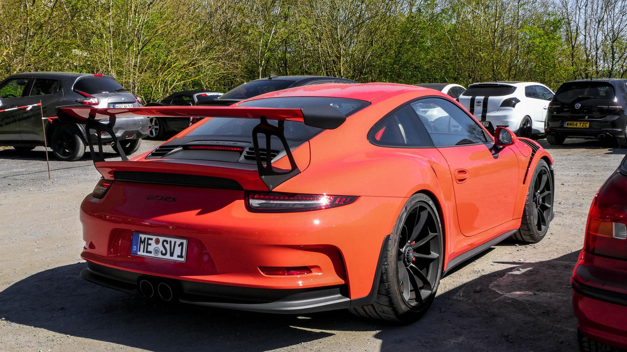 Porsche 911 GT3 RS - ME-SV-1