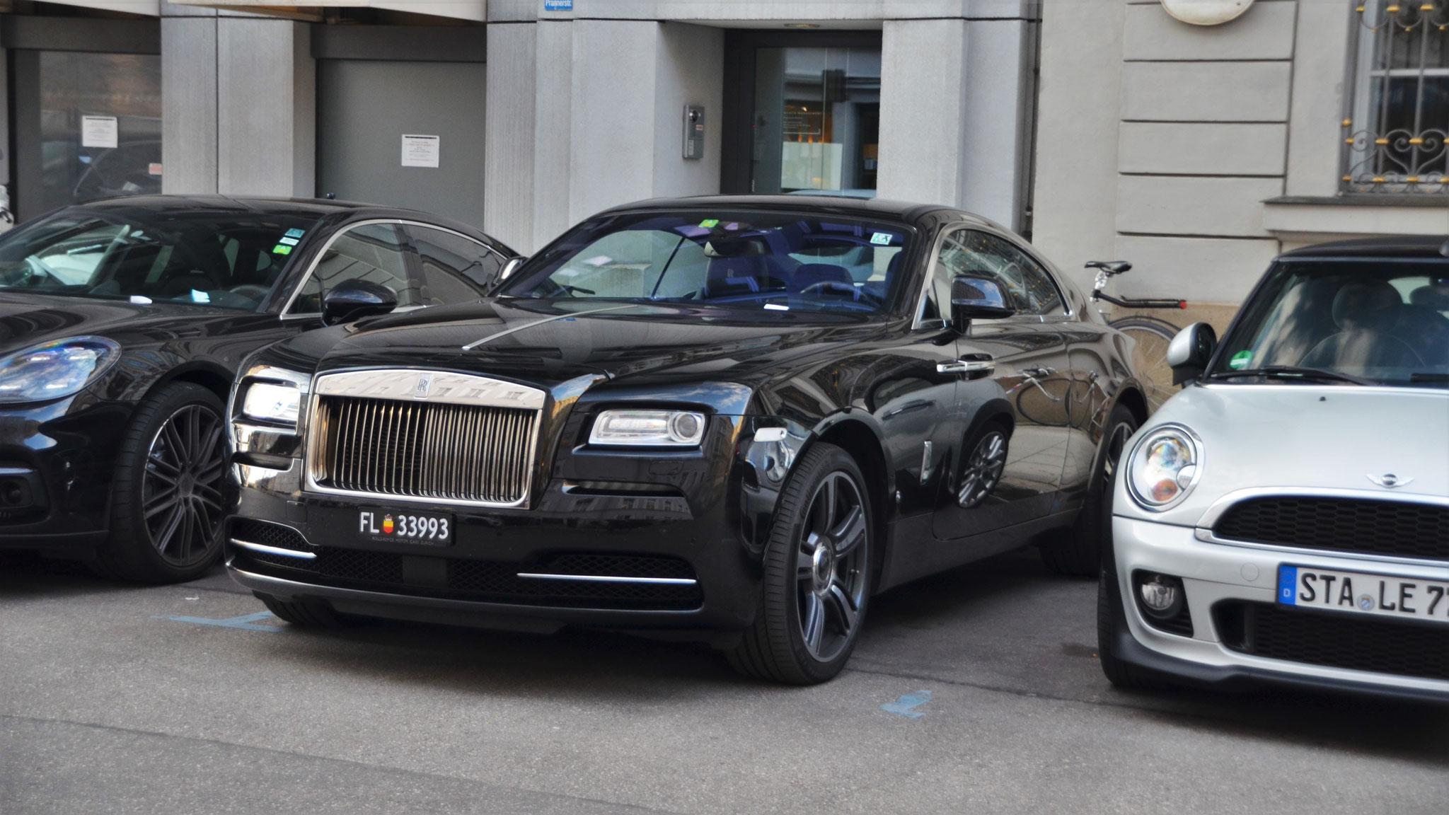 Rolls Royce Wraith - FL-33993 (LIC)