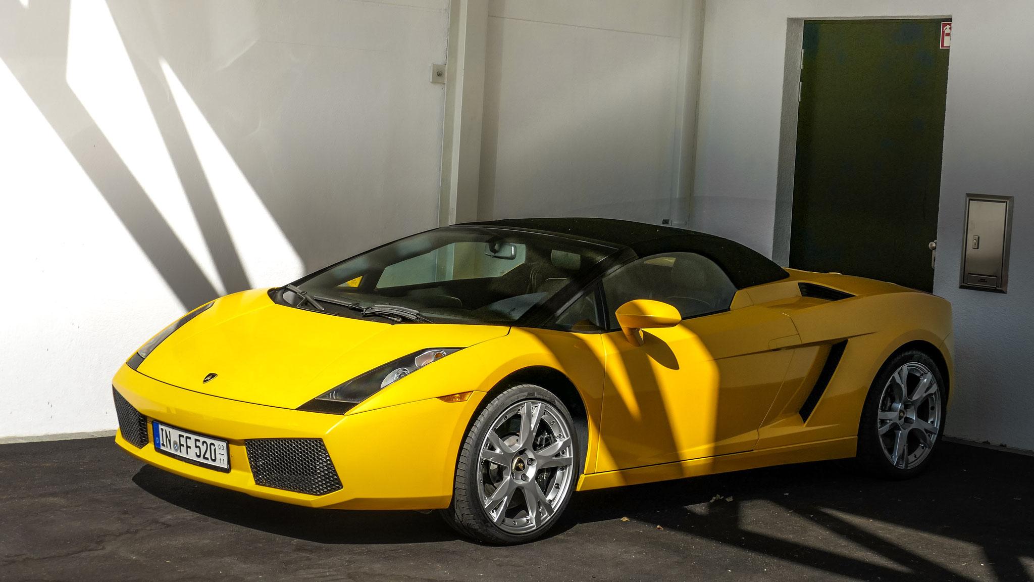 Lamborghini Gallardo Spyder - IN-FF-520