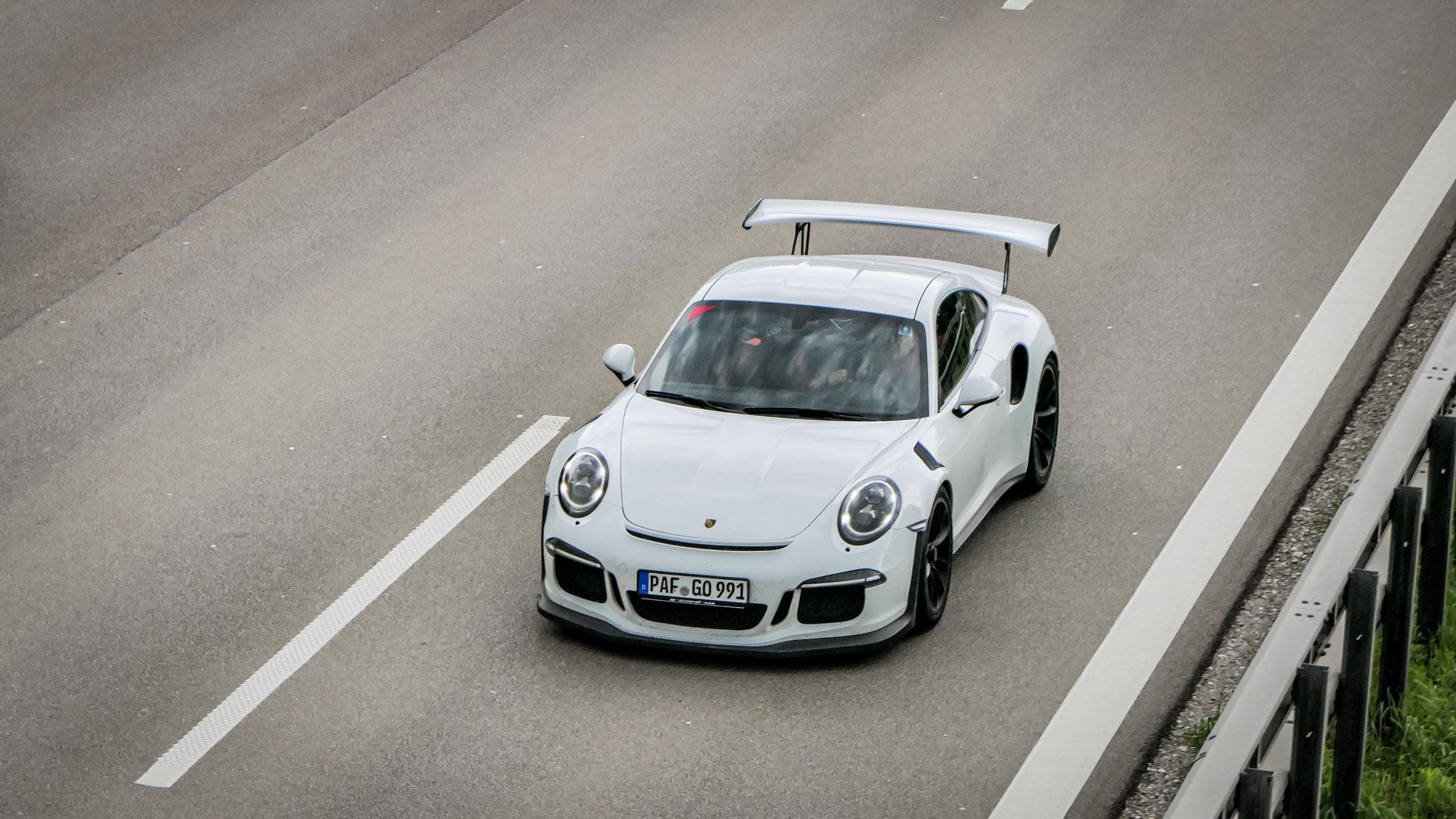 Porsche 911 GT3 RS - PAF-GO-991