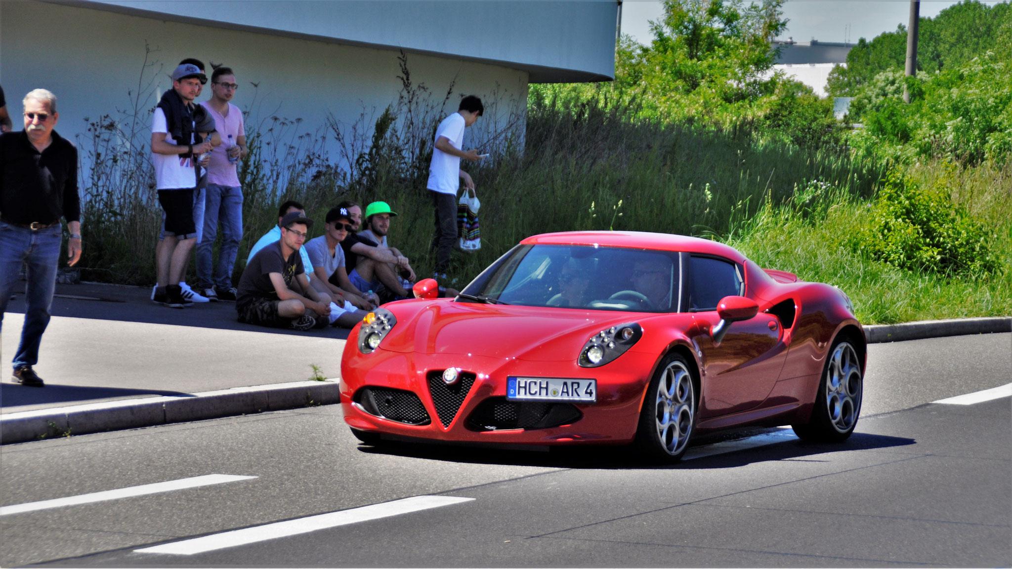 Alfa Romeo 4C - HCH-AR-4