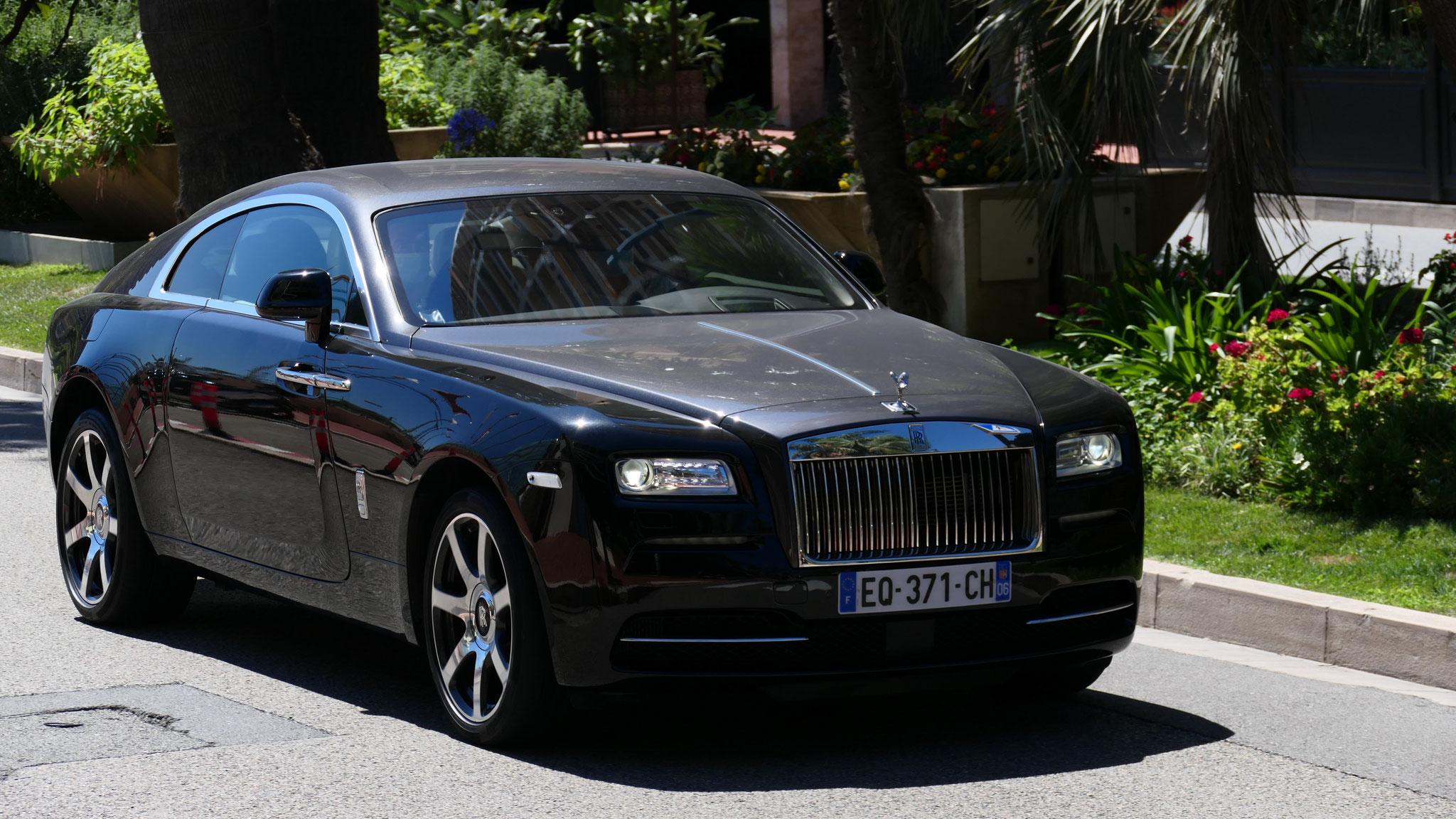 Rolls Royce Wraith - EQ-371-CH-06 (FRA)