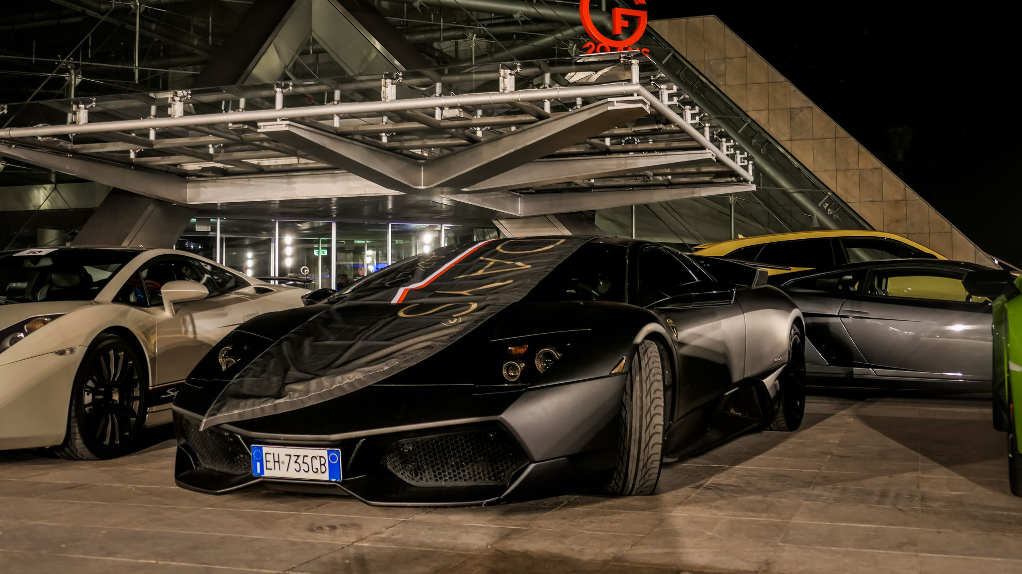 Lamborghini Murcielago SV (fake) - EH-735-GB (ITA)