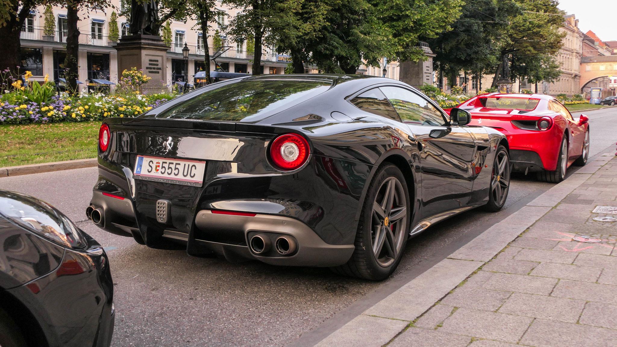 Ferrari F12 Berlinetta - S-555-UC (AUT)
