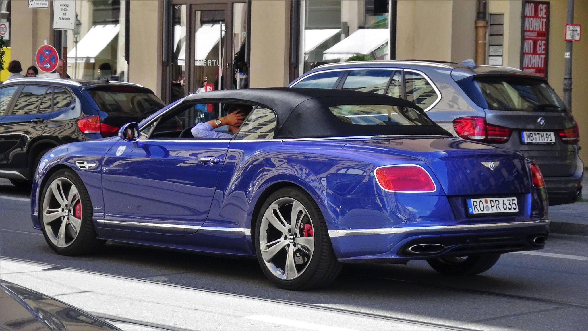 Bentley Continental GTC Speed - RO-PR-635
