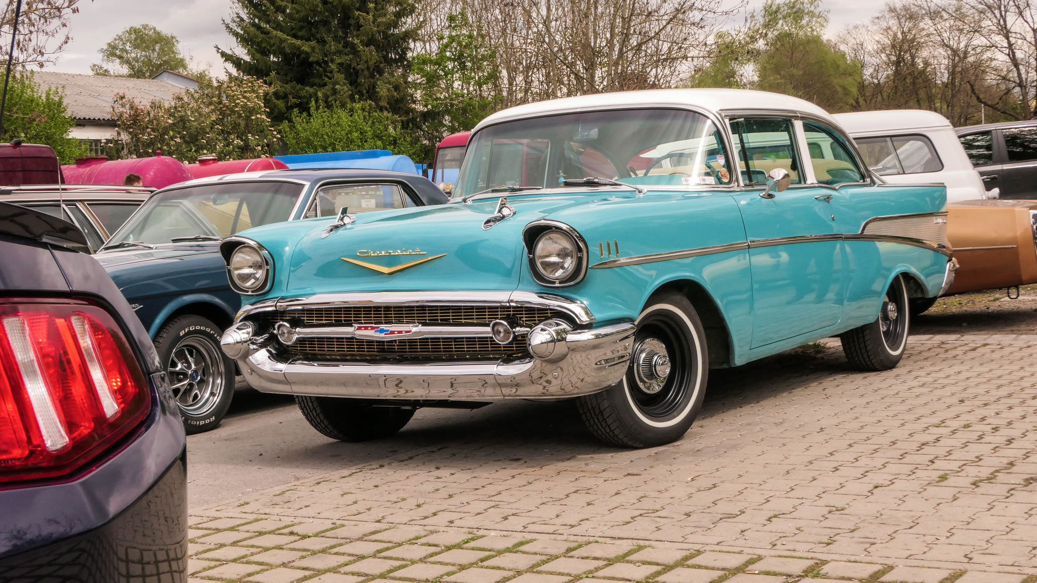 Chevrolet Bel Air - FFB-US-57H