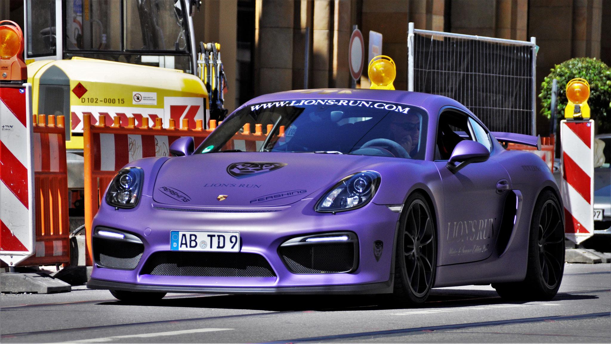 Porsche Cayman GT4 - AB-TD-9