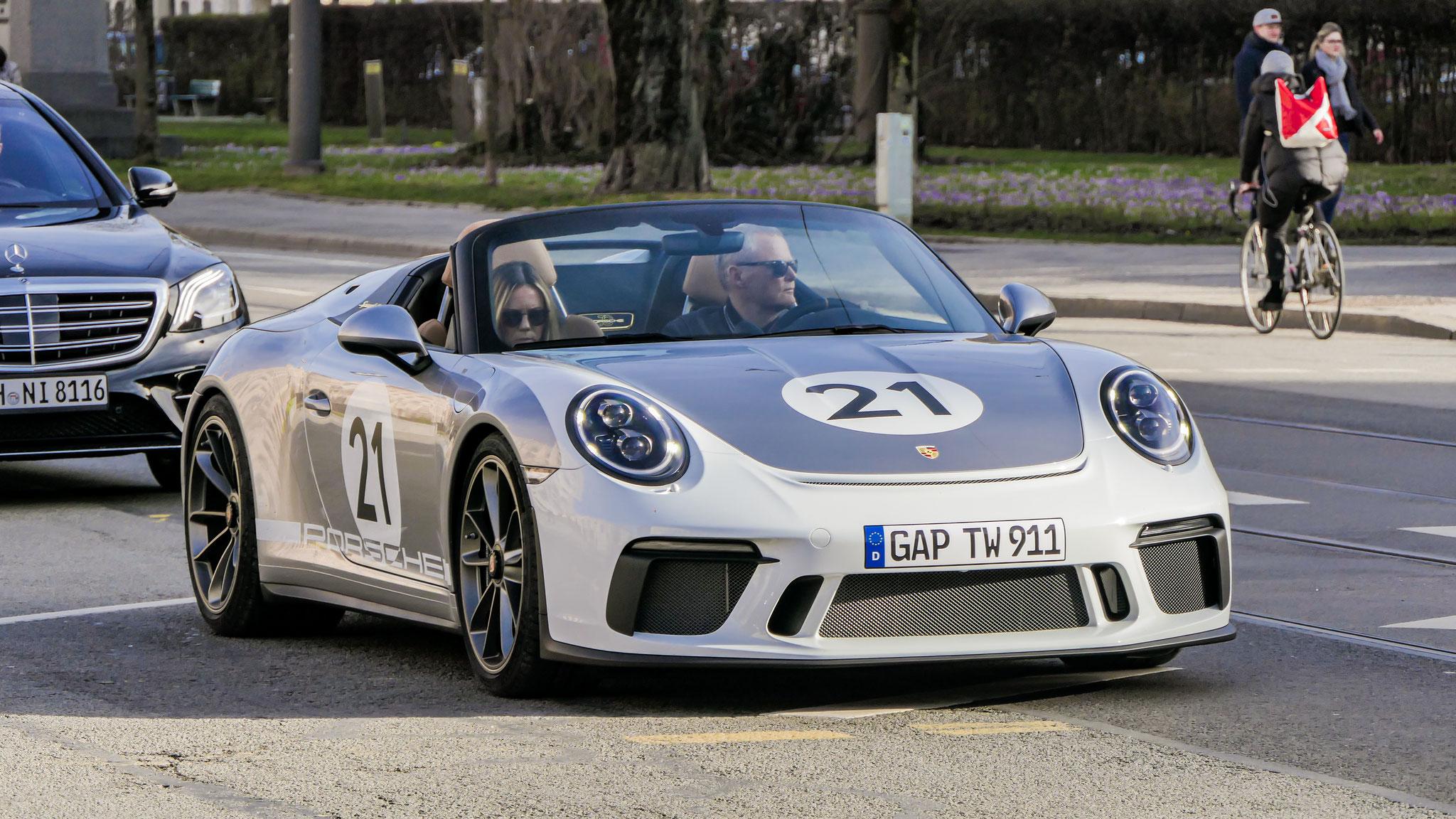 Porsche 991 Speedster - GAP-TW-911