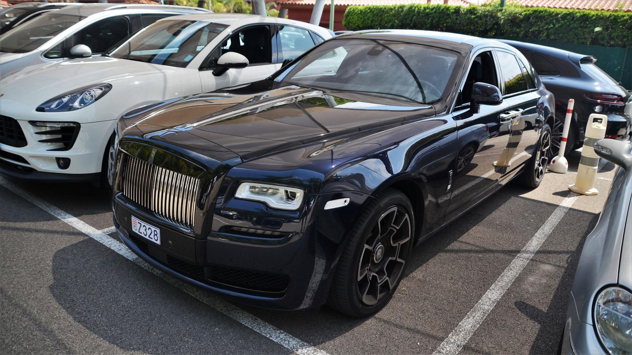 Rolls Royce Ghost Series II Black Badge - Z328 (MC)