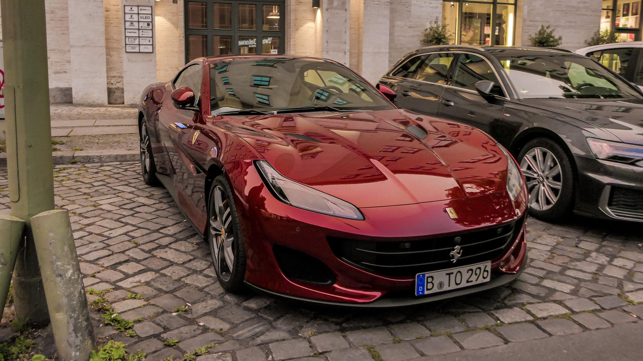 Ferrari Portofino - B-TO-296