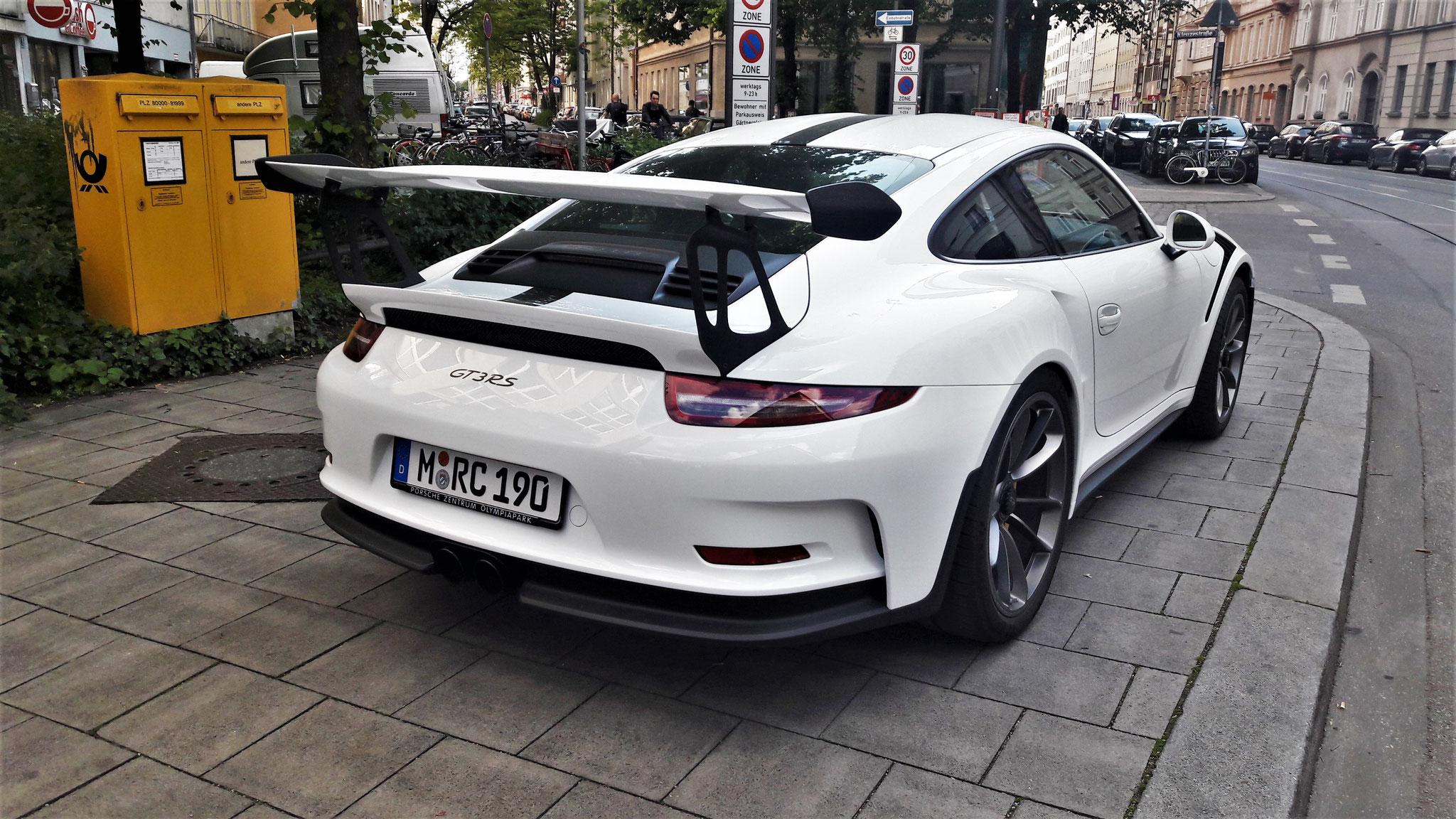 Porsche 911 GT3 RS - M-RC-190