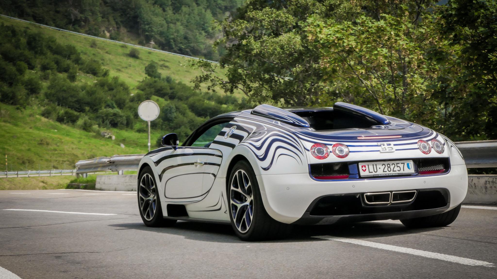 Bugatti Veyron Grand Sport Vitesse - LU-28257 (CH)