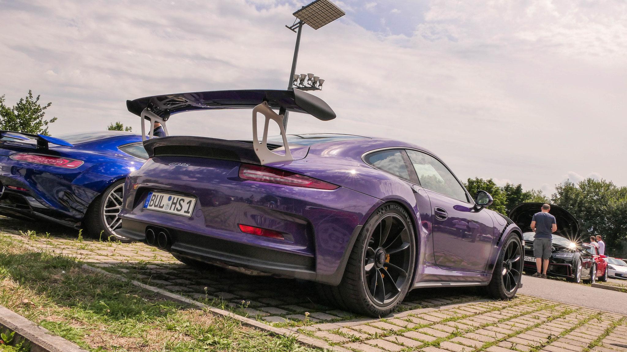 Porsche 911 GT3 RS - BUL-HS-1