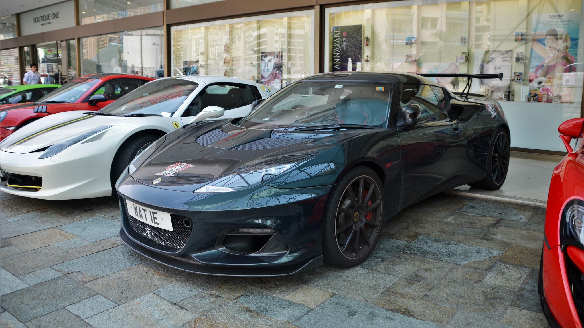 Lotus Evora GT430 -  WAT-IE (GB)